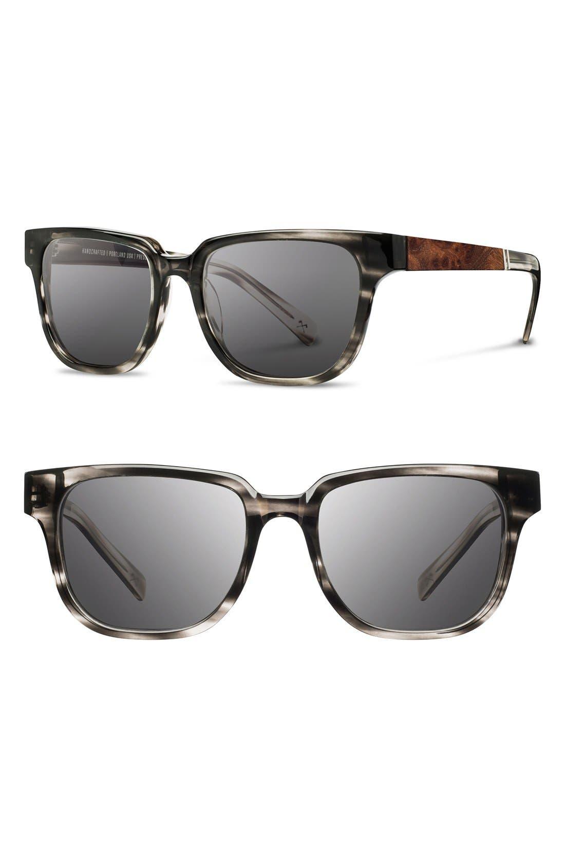 'Prescott' 52mm Polarized Sunglasses,                             Alternate thumbnail 9, color,