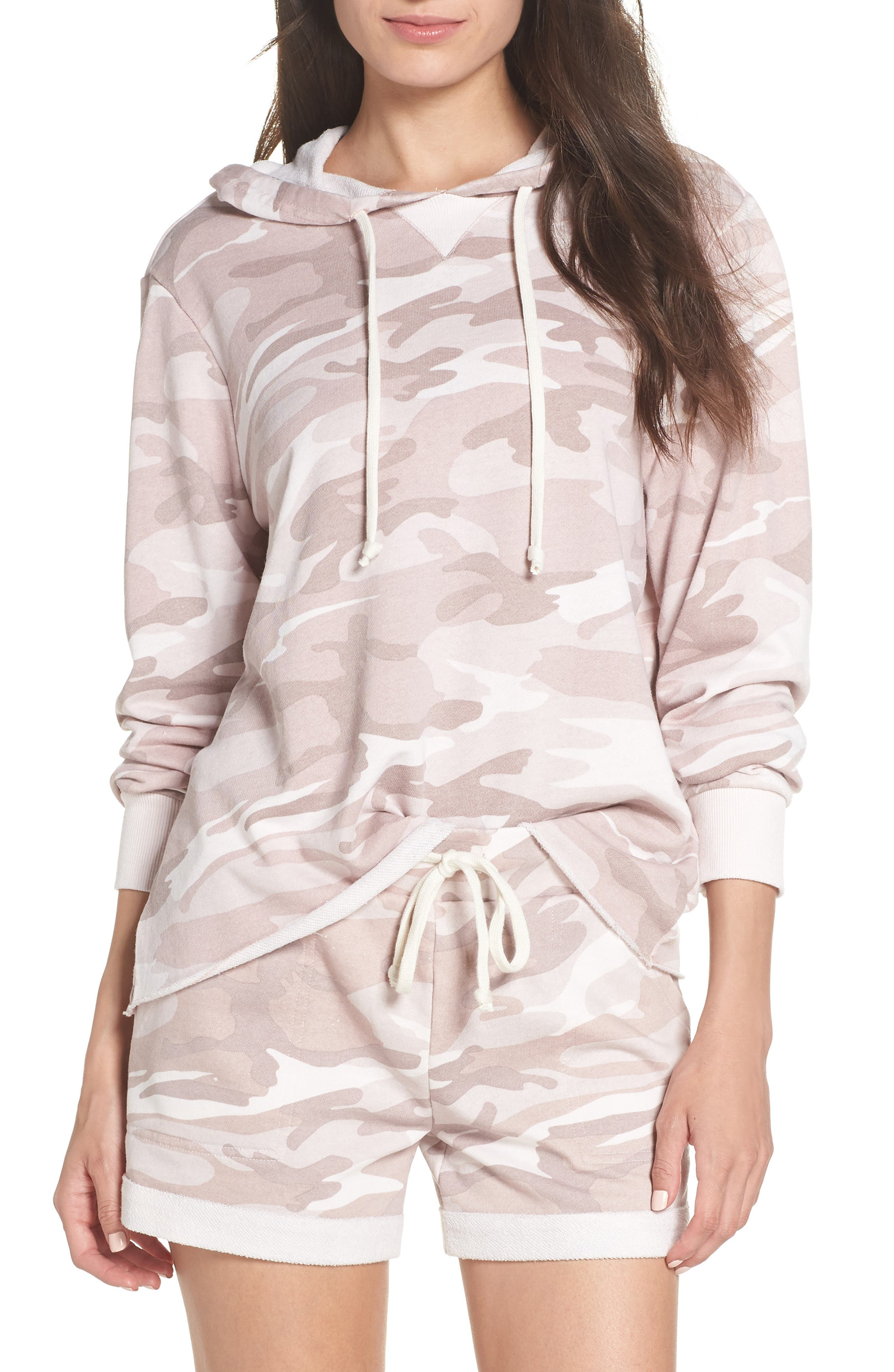 Day Off Hoodie,                         Main,                         color, BLUSH CAMO