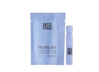 Mugler gift with purchase.