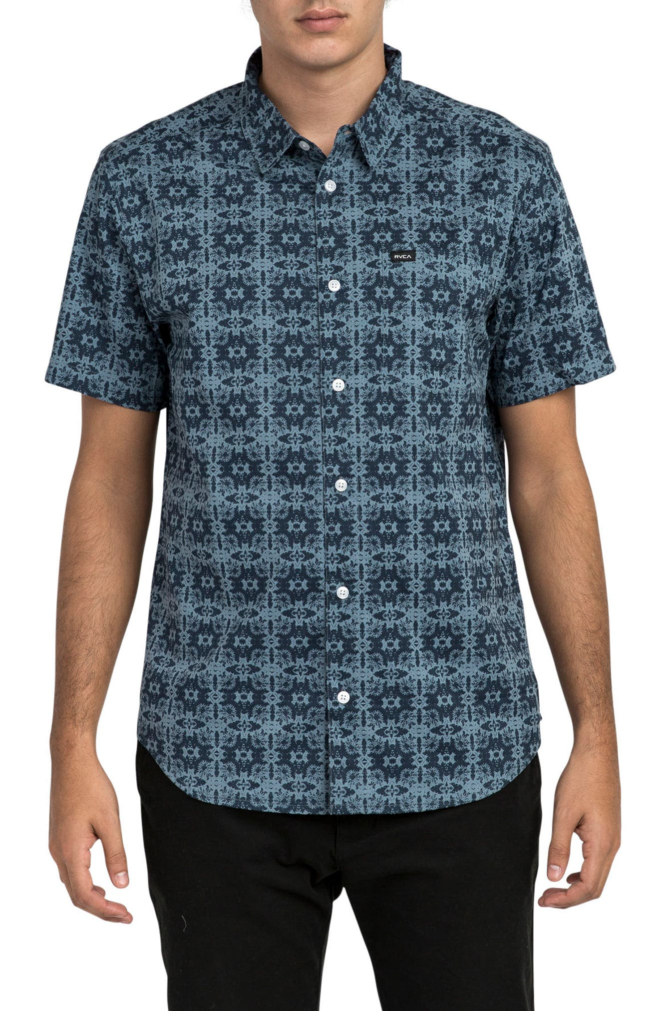 Visions Short Sleeve Shirt,                             Main thumbnail 1, color,                             407