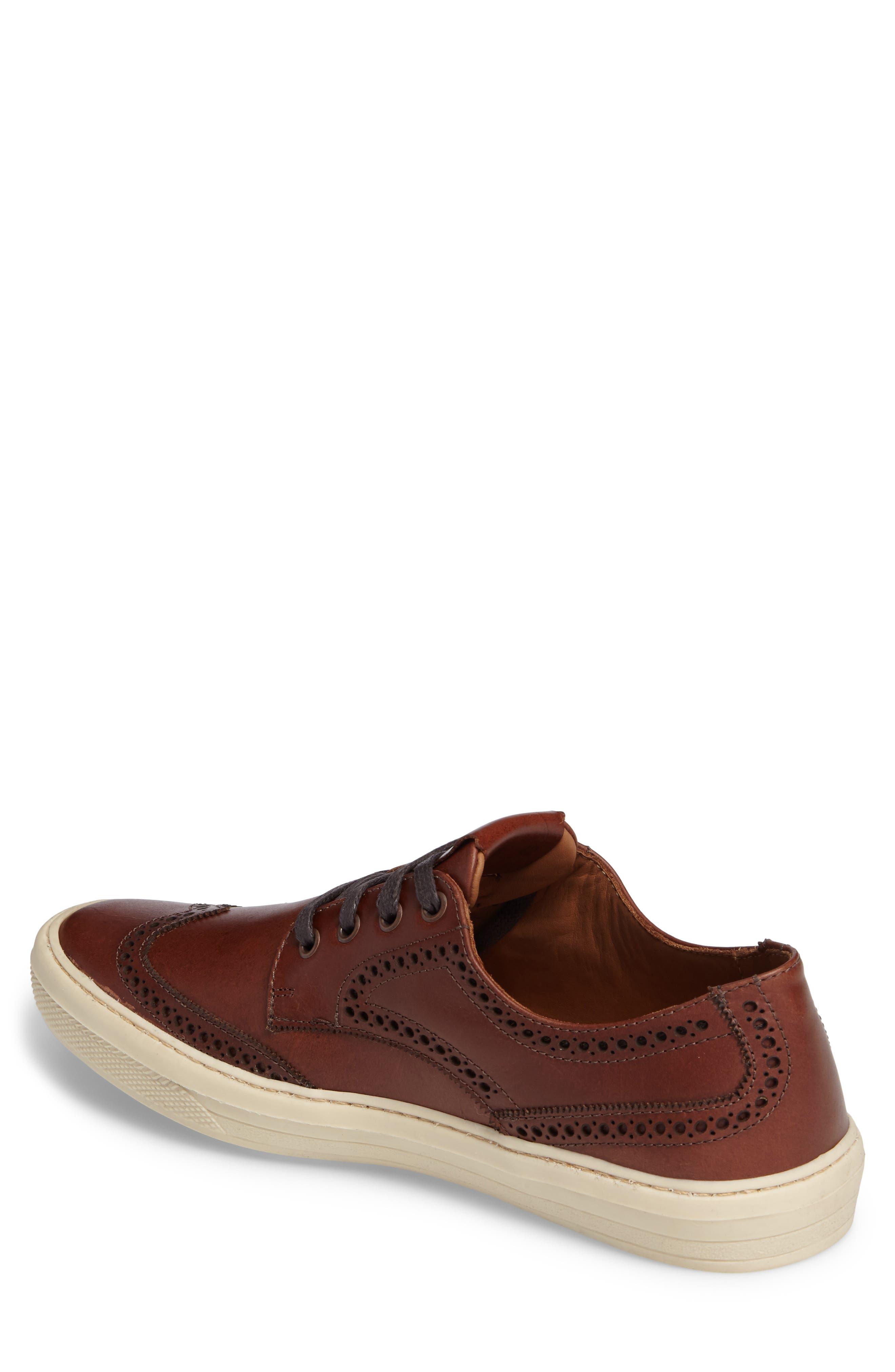 Bariri Wingtip Sneaker,                             Alternate thumbnail 2, color,                             200