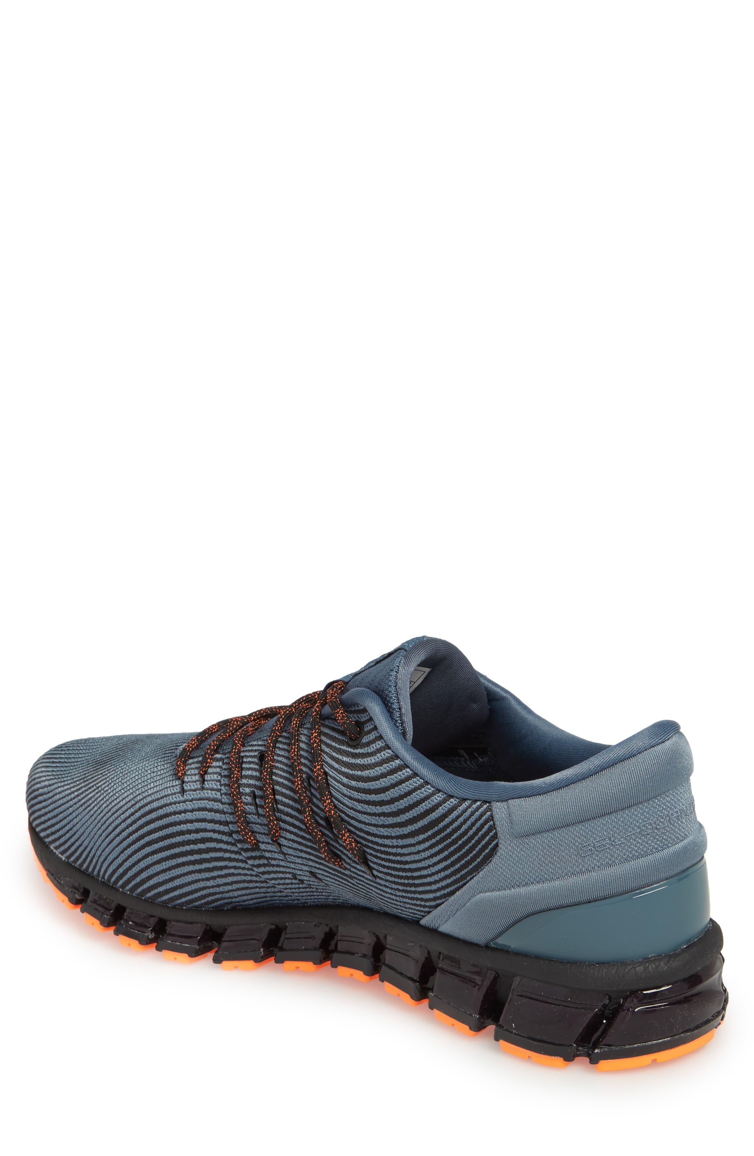GEL-Quantum 360 4 Running Shoe,                             Alternate thumbnail 2, color,                             IRON CLAD/ BLACK