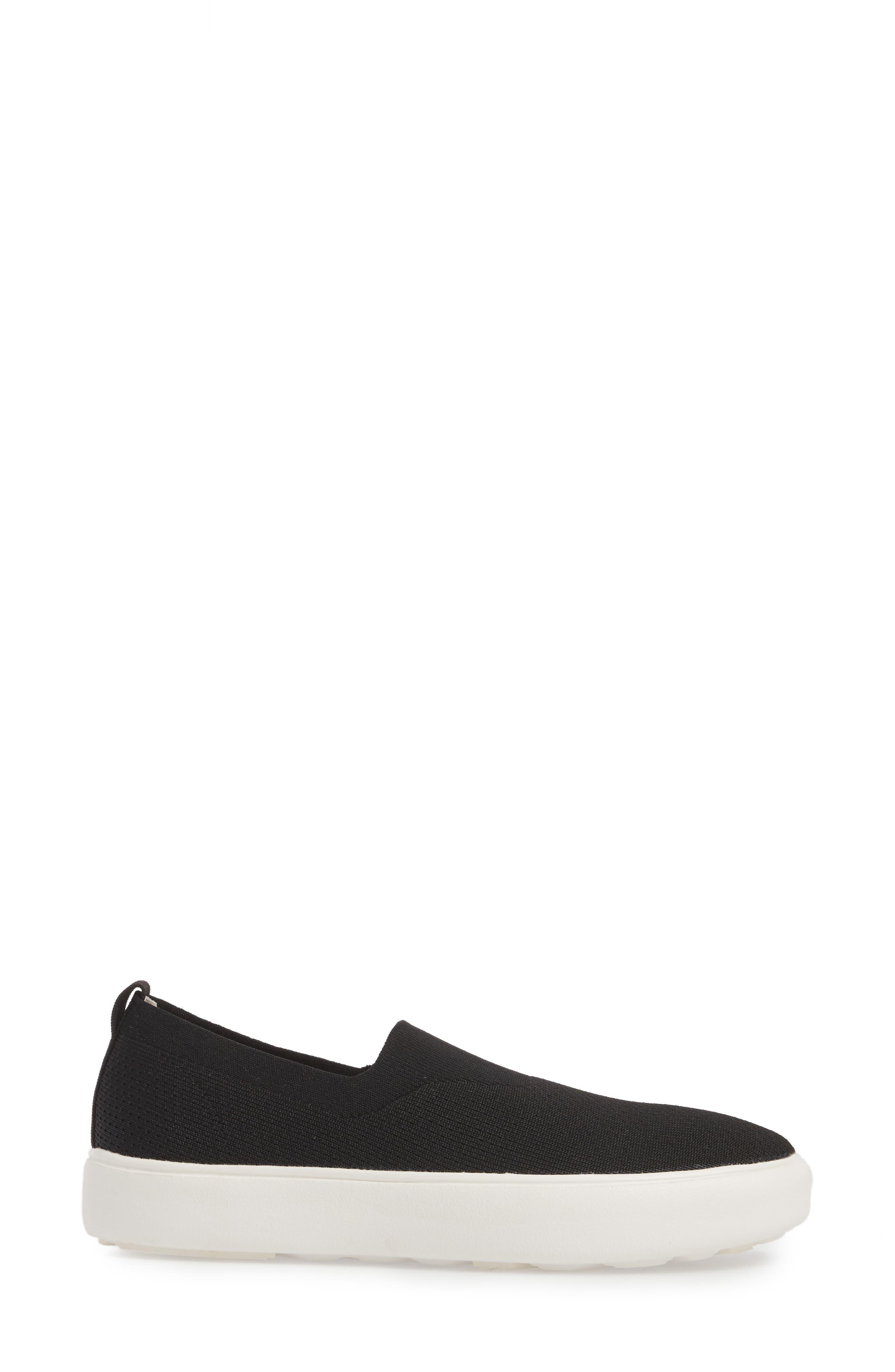 Hula Slip-On Sneaker,                             Alternate thumbnail 3, color,                             BLACK