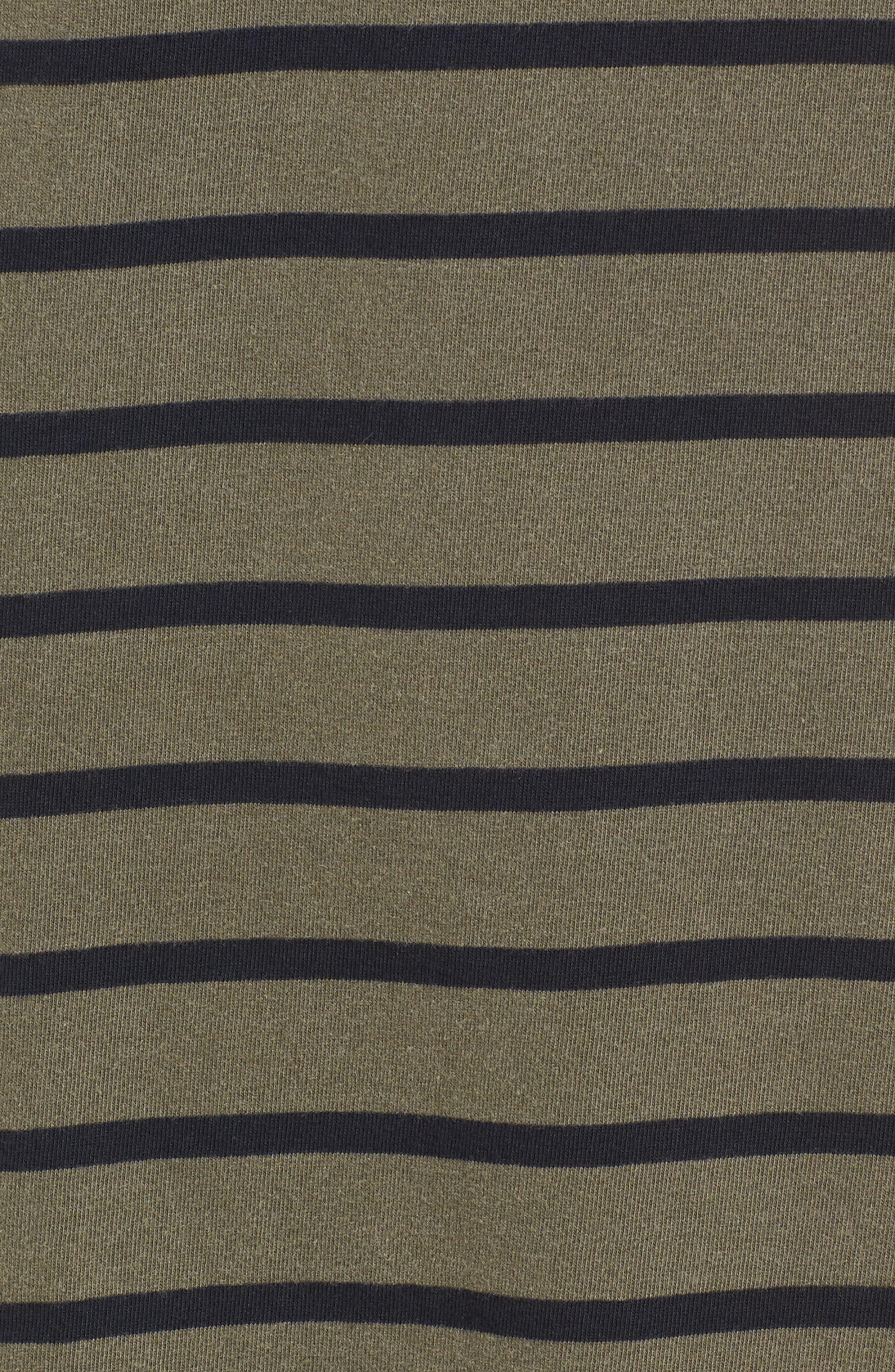 Stripe T-Shirt Dress,                             Alternate thumbnail 5, color,                             300