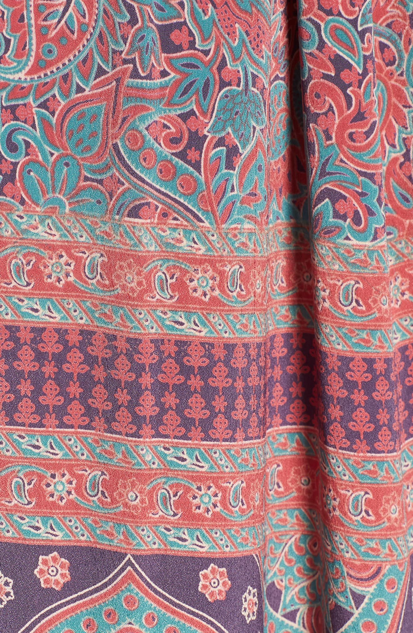 Electric Love Maxi Dress,                             Alternate thumbnail 6, color,                             MULTI