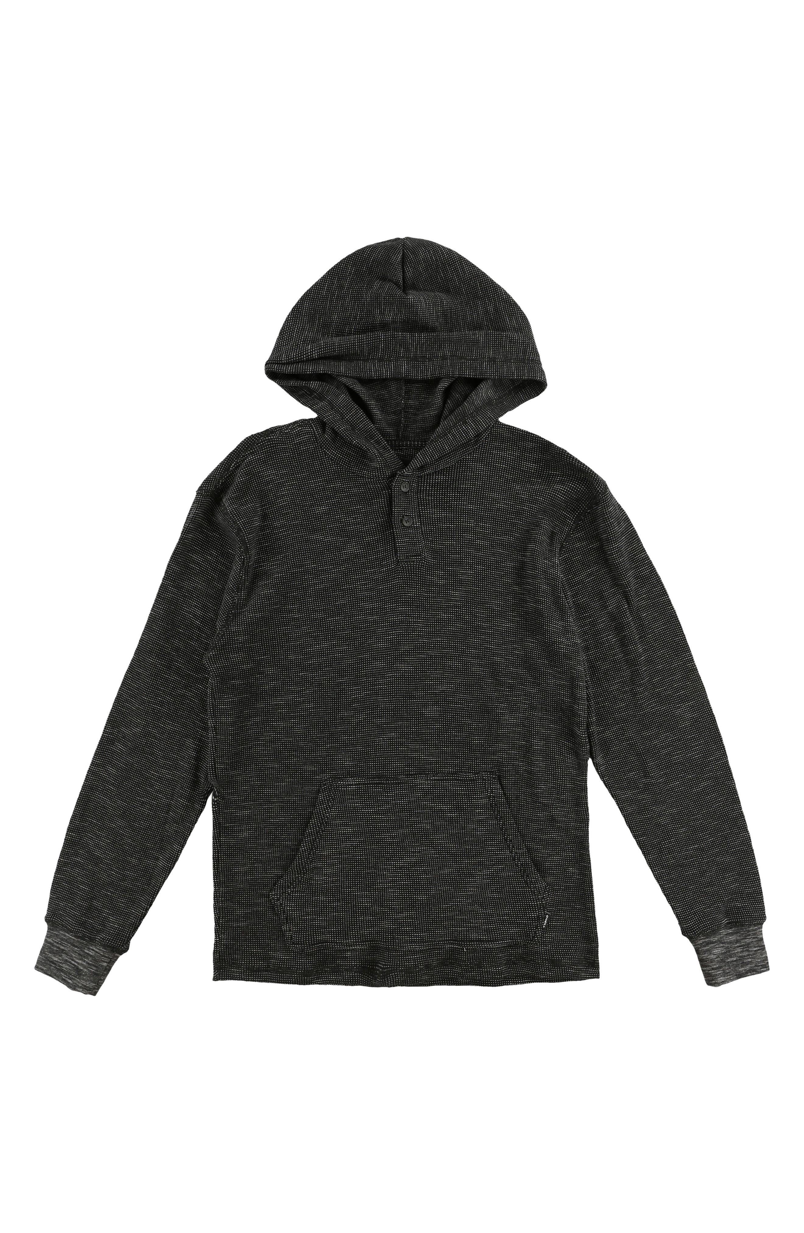 Jasper Thermal Pullover, Main, color, BLACK