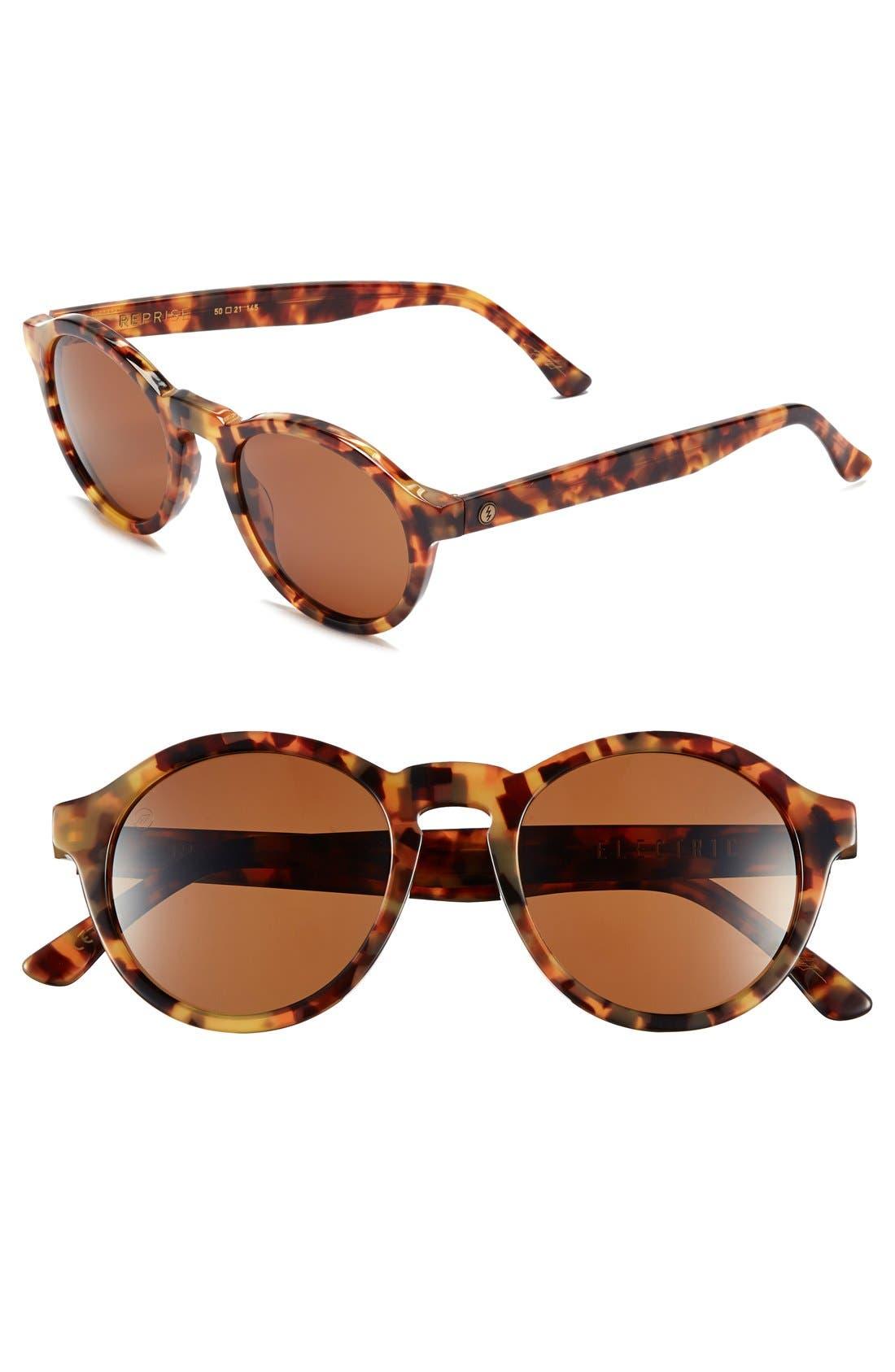 'Reprise' 50mm Round Sunglasses,                             Main thumbnail 6, color,