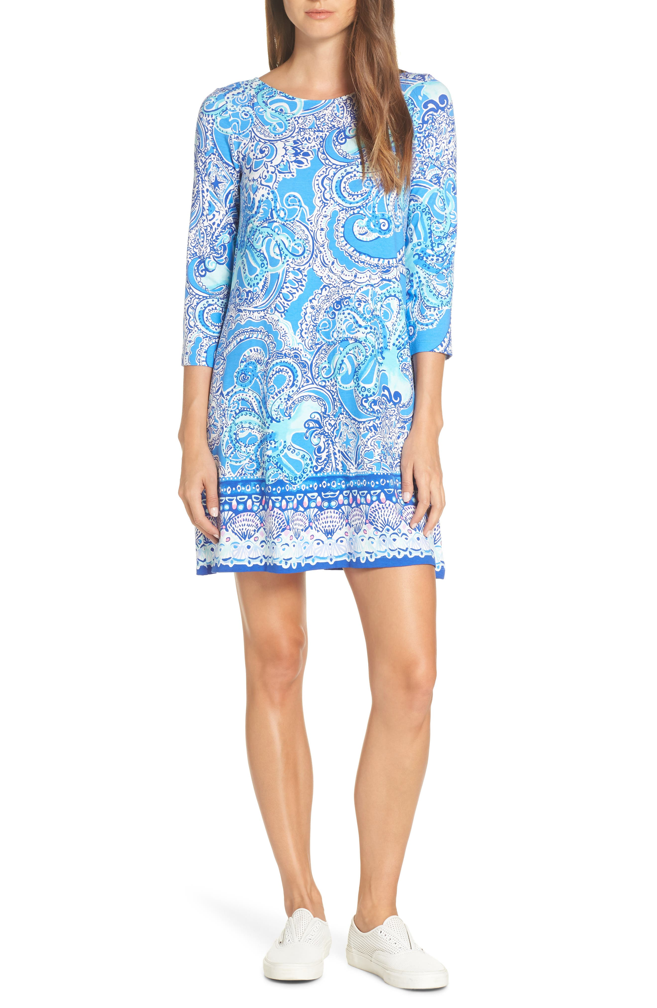 Lilly Pulitzer Ophelia Shift Dress, Blue