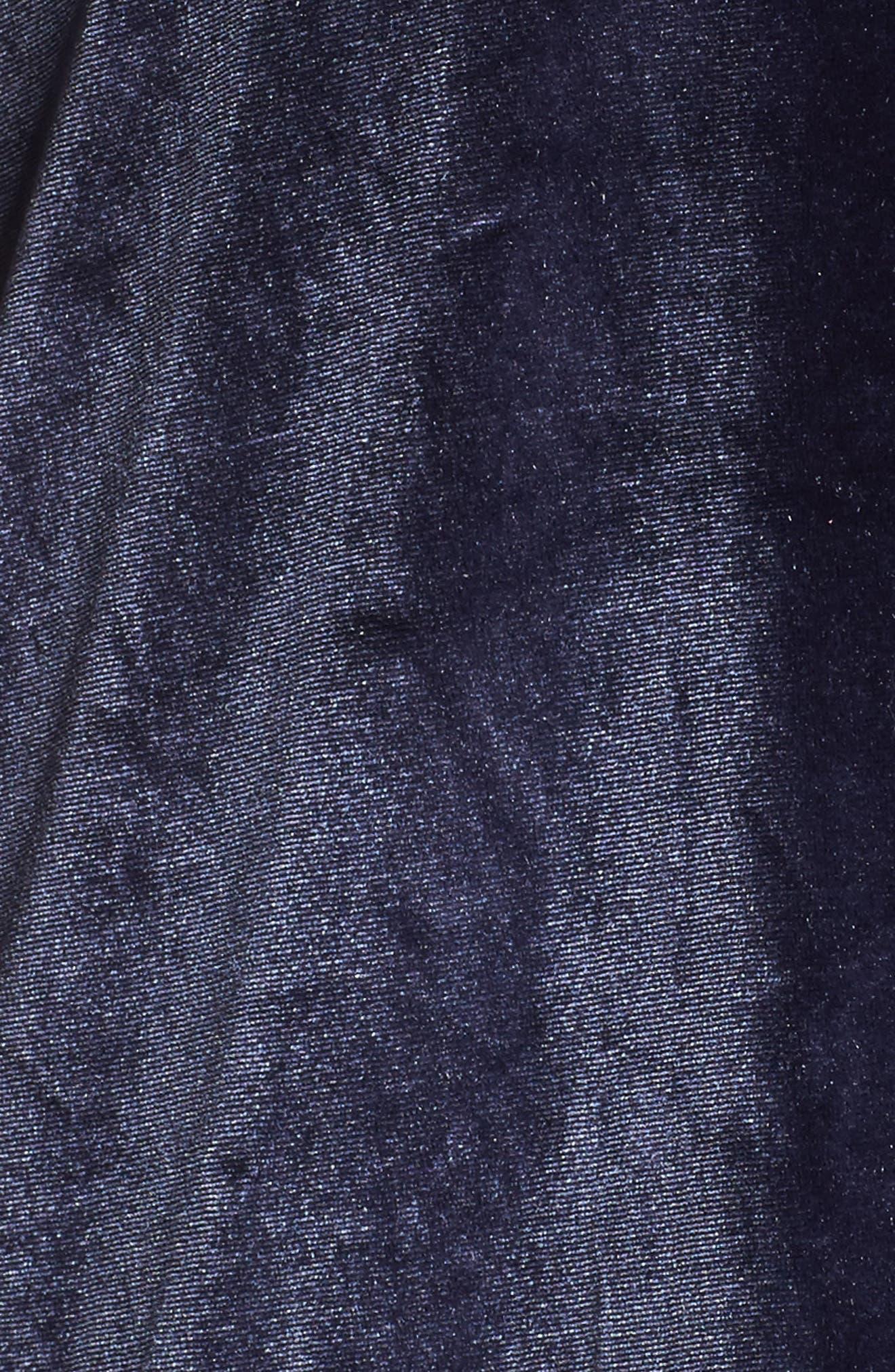 Cowl Neck Velour Top,                             Alternate thumbnail 14, color,
