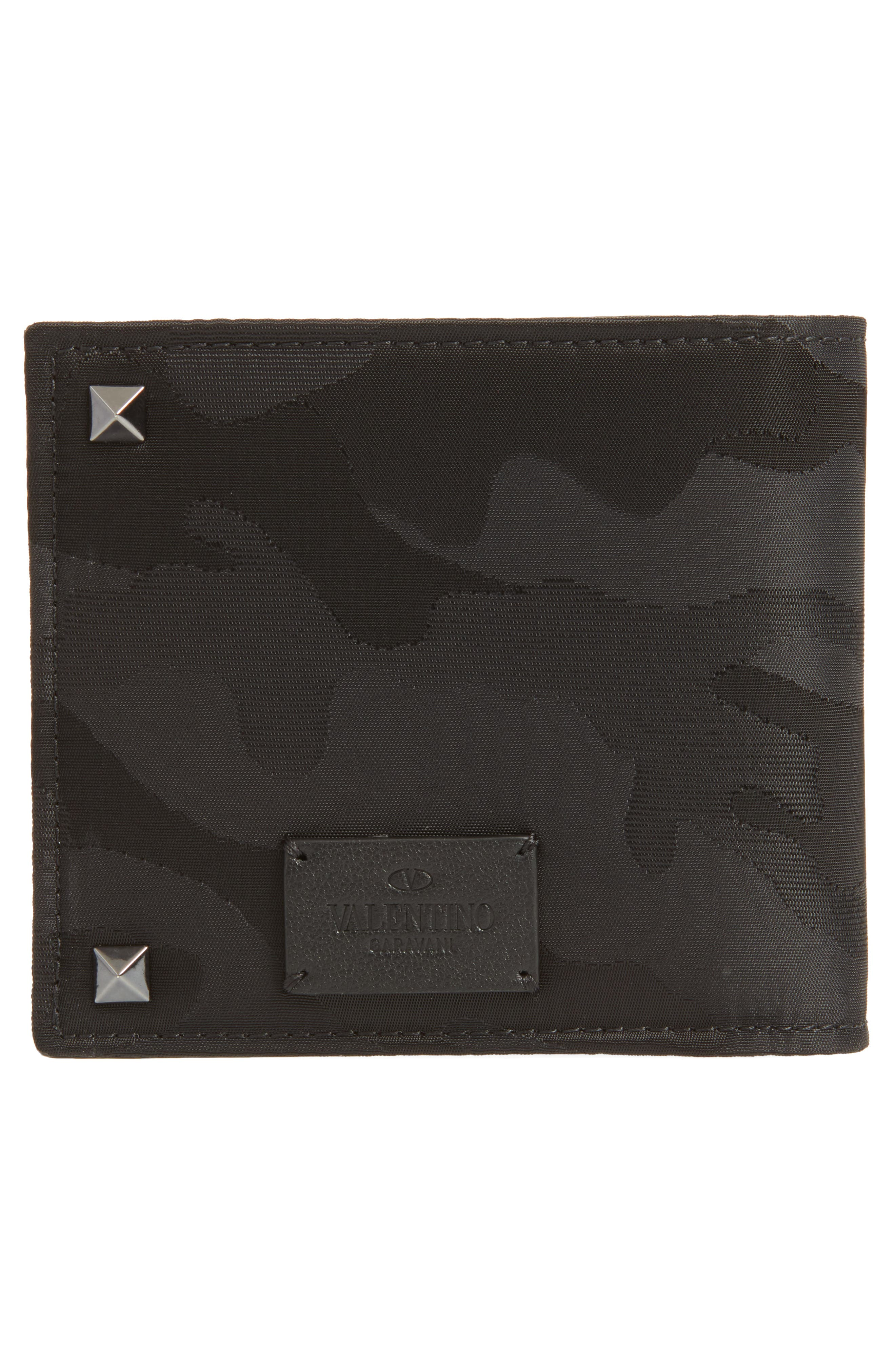 GARAVANI Camo Wallet,                             Alternate thumbnail 3, color,                             001