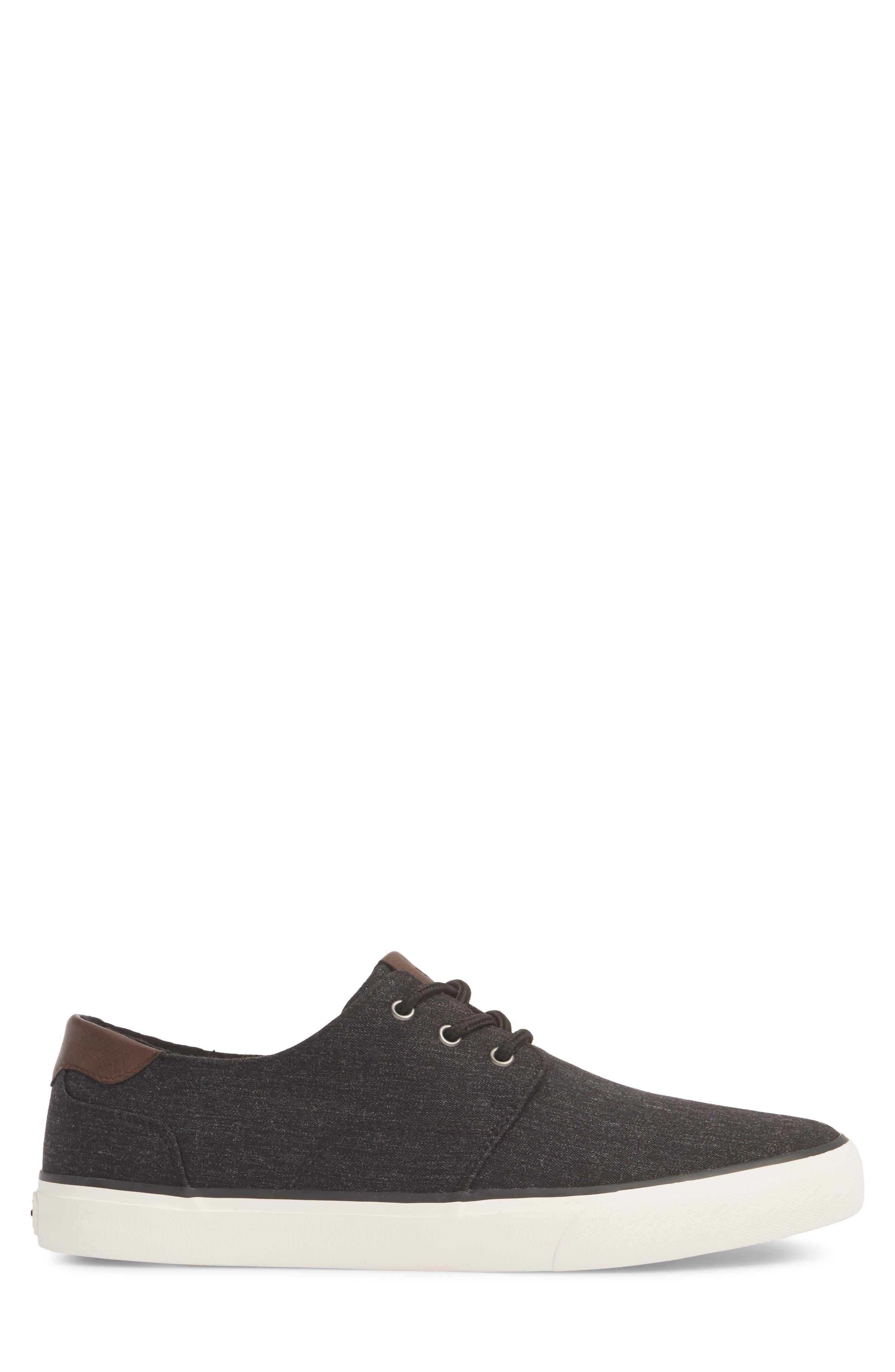 Briggs Low Top Sneaker,                             Alternate thumbnail 3, color,                             001
