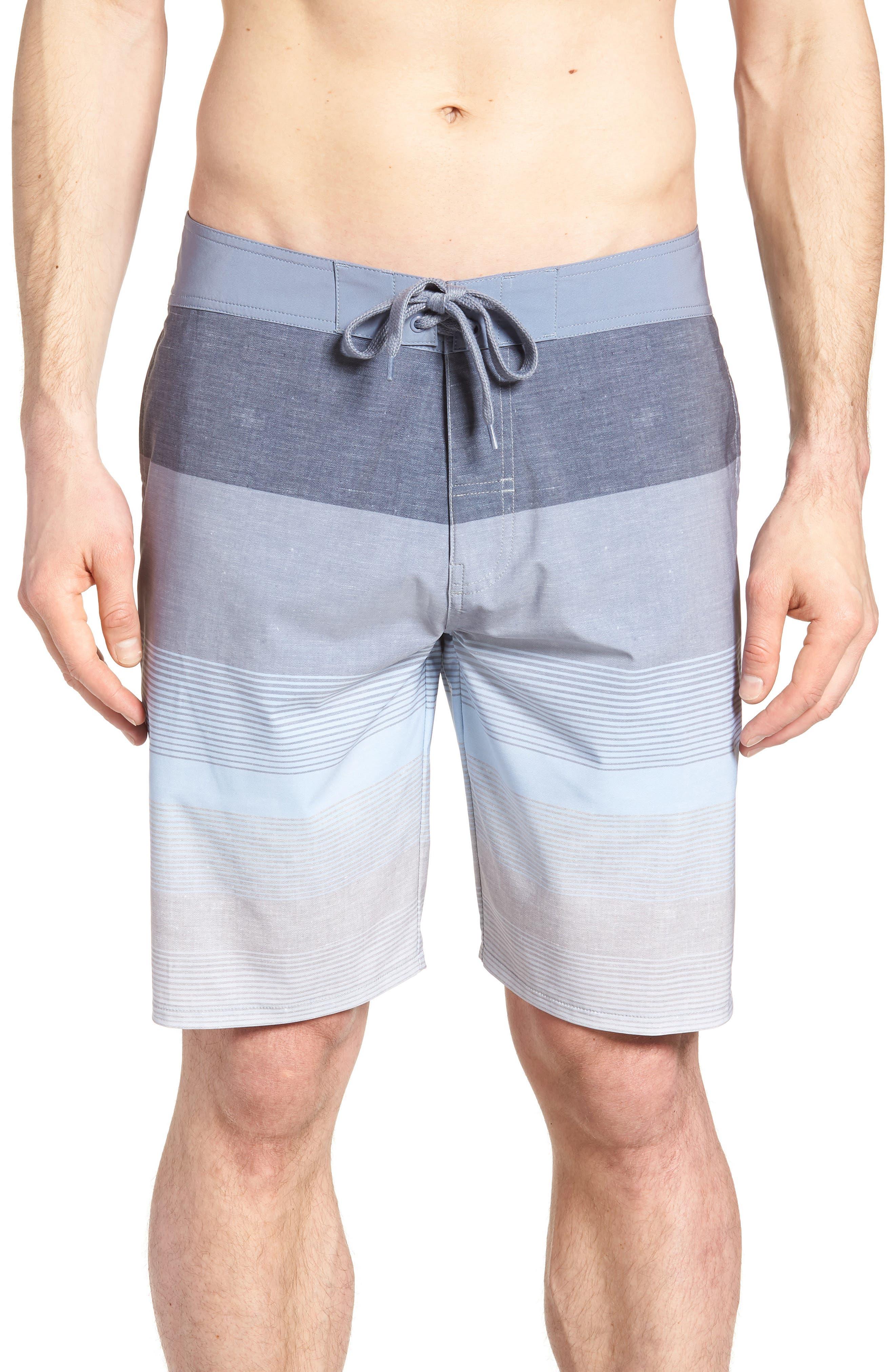 Seegrid Regular Fit Board Shorts,                             Main thumbnail 1, color,                             401