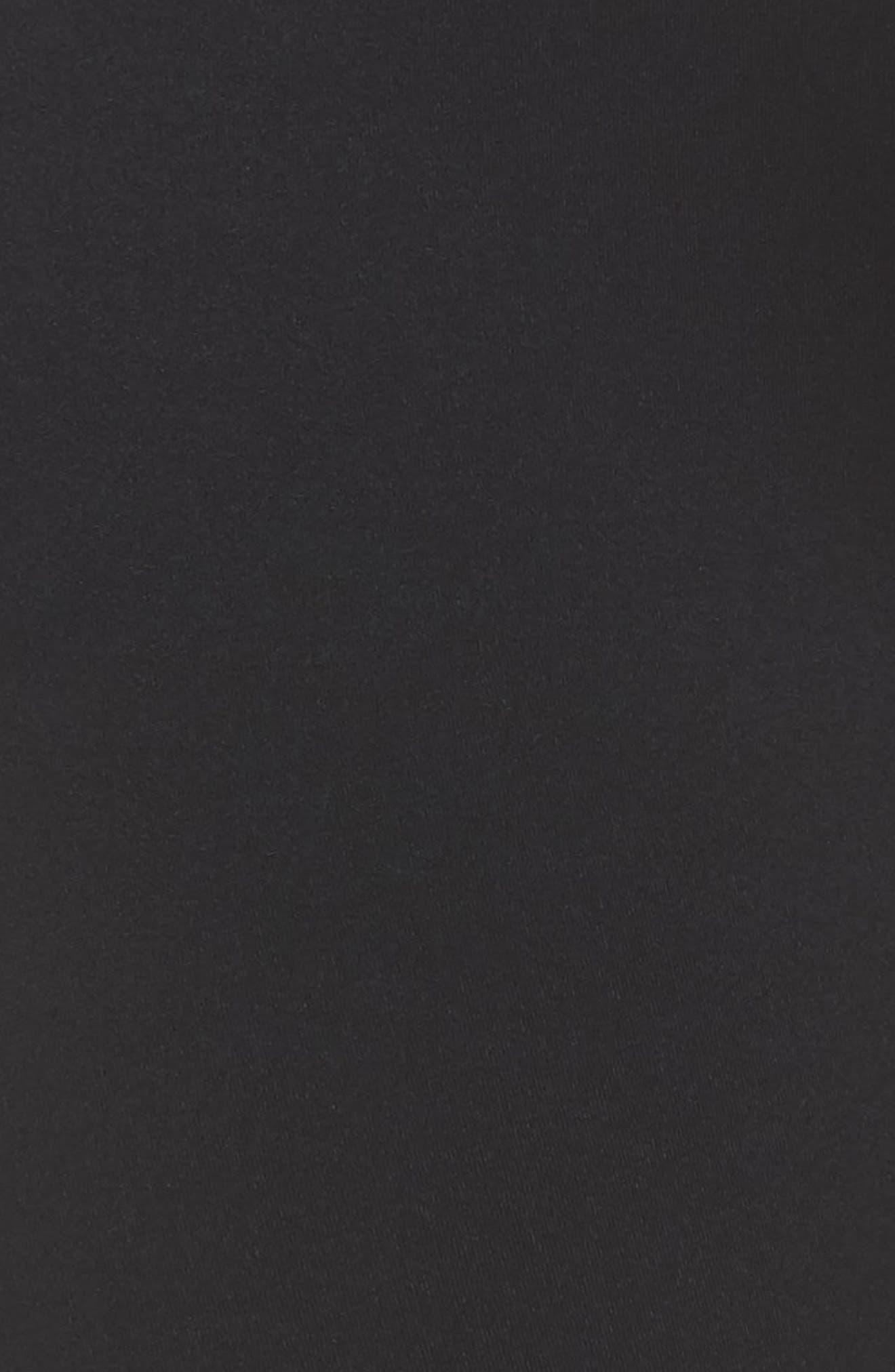 Venice Leggings,                             Alternate thumbnail 6, color,                             BLACK/ ROYAL/ OFF WHITE