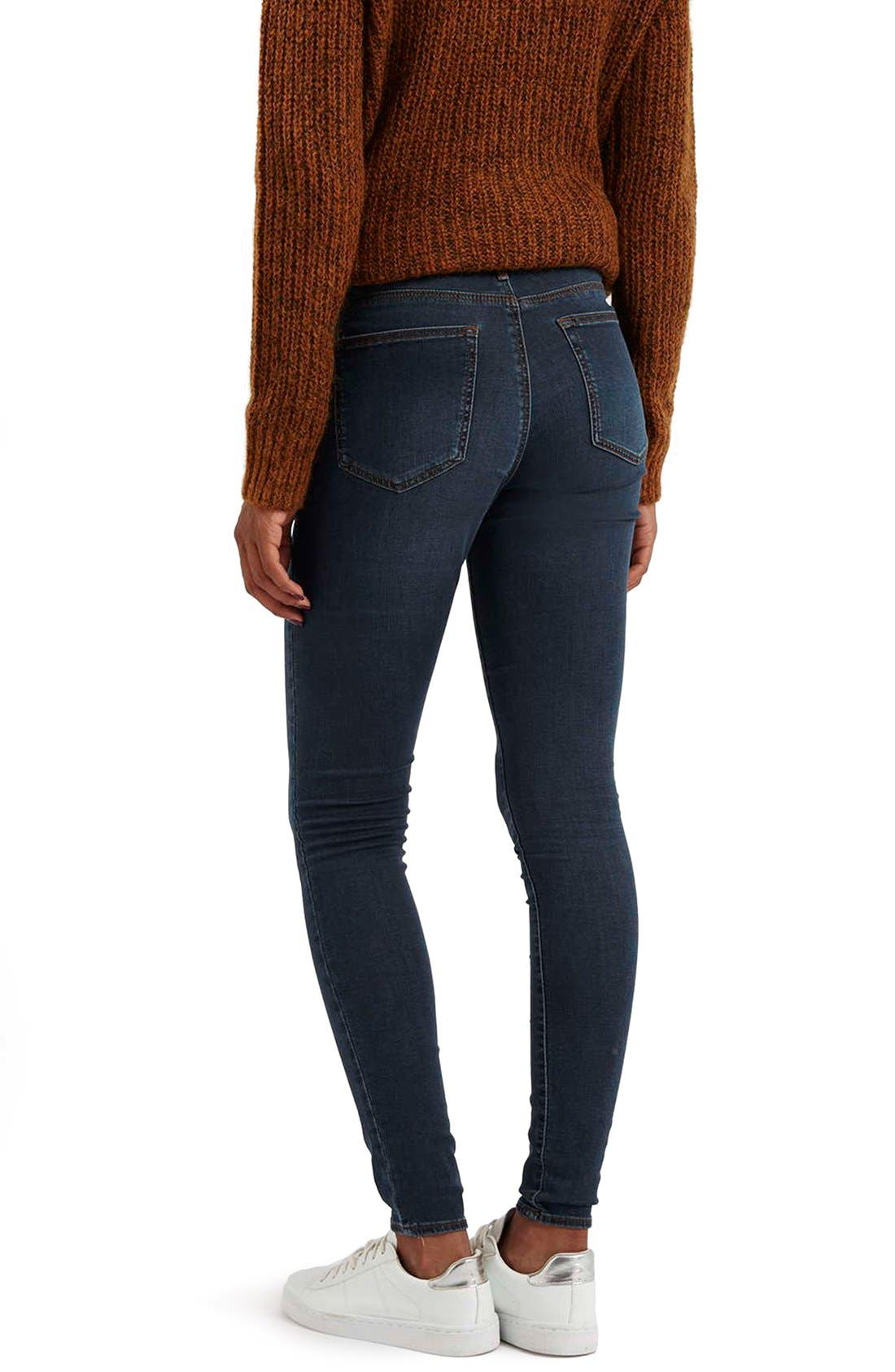 Moto 'Leigh' Skinny Jeans,                             Alternate thumbnail 5, color,                             400
