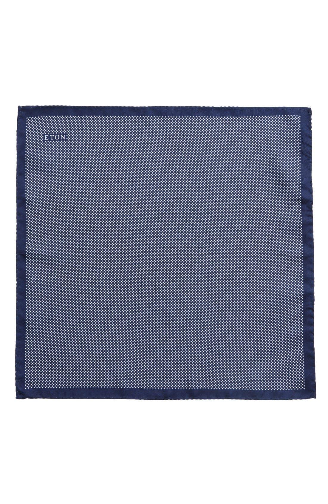 Dot Silk Pocket Square,                             Alternate thumbnail 12, color,