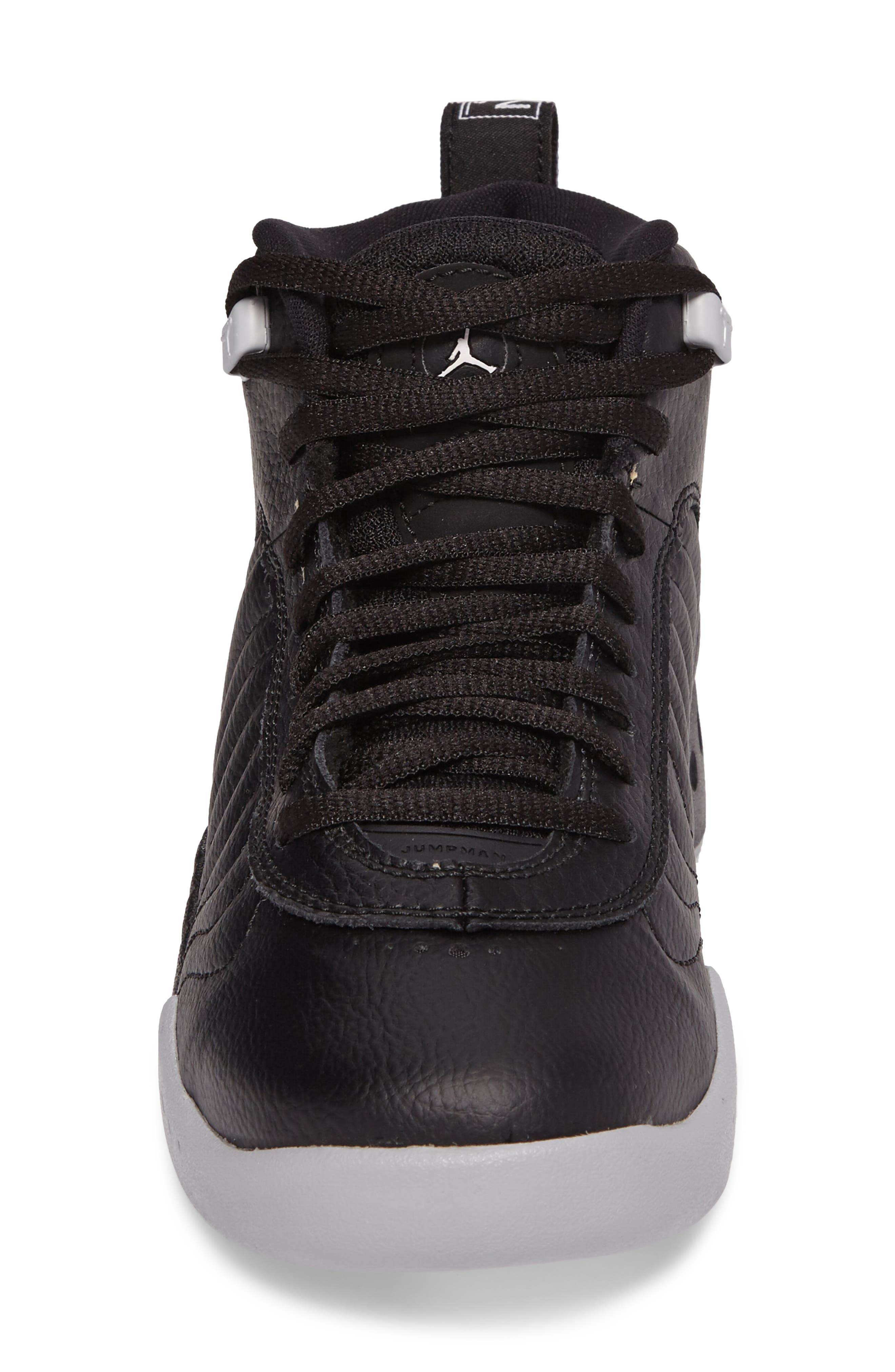 Jumpman Pro BG Mid Top Sneaker,                             Alternate thumbnail 4, color,                             012