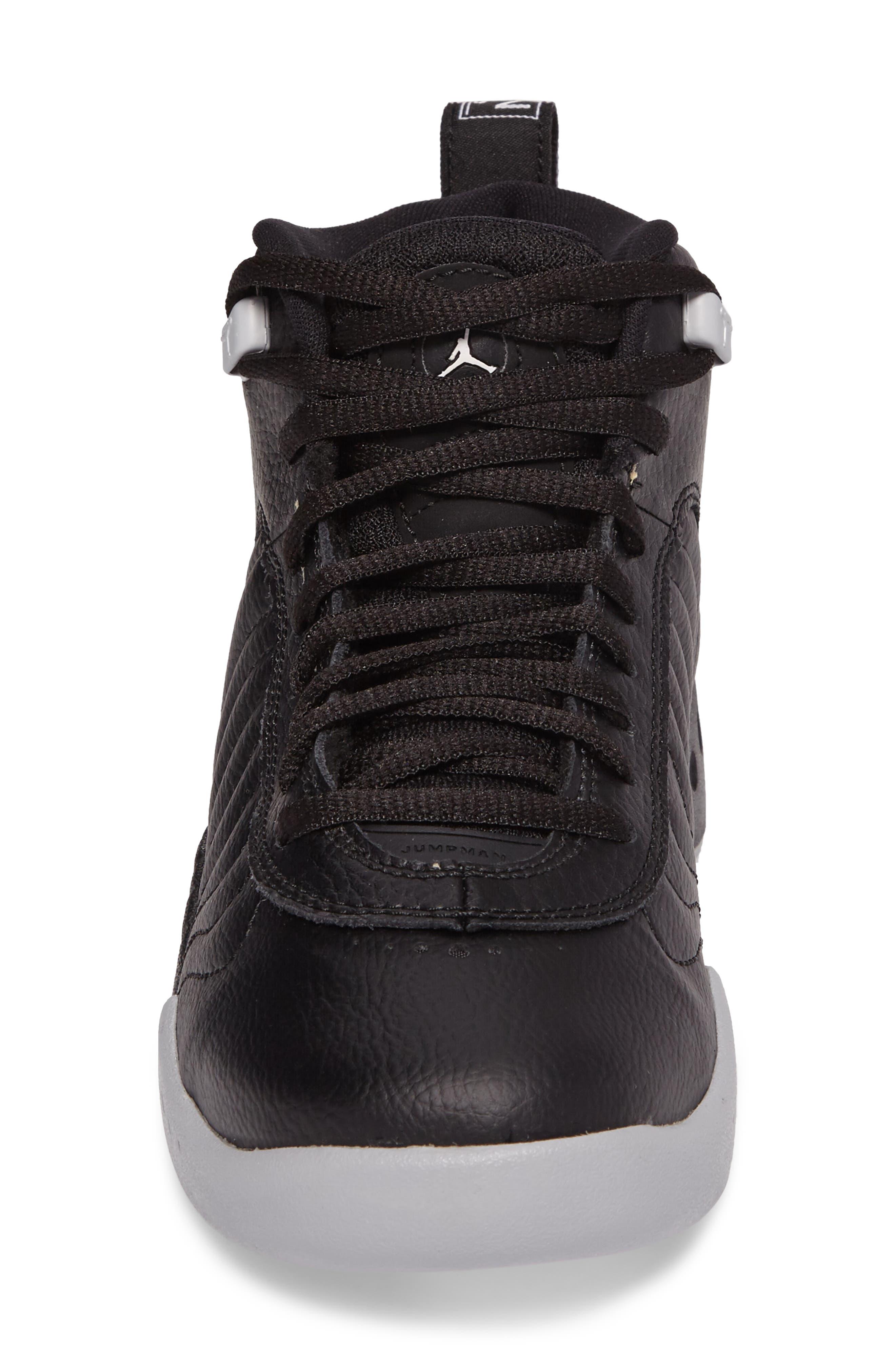 Jumpman Pro BG Mid Top Sneaker,                             Alternate thumbnail 4, color,                             012