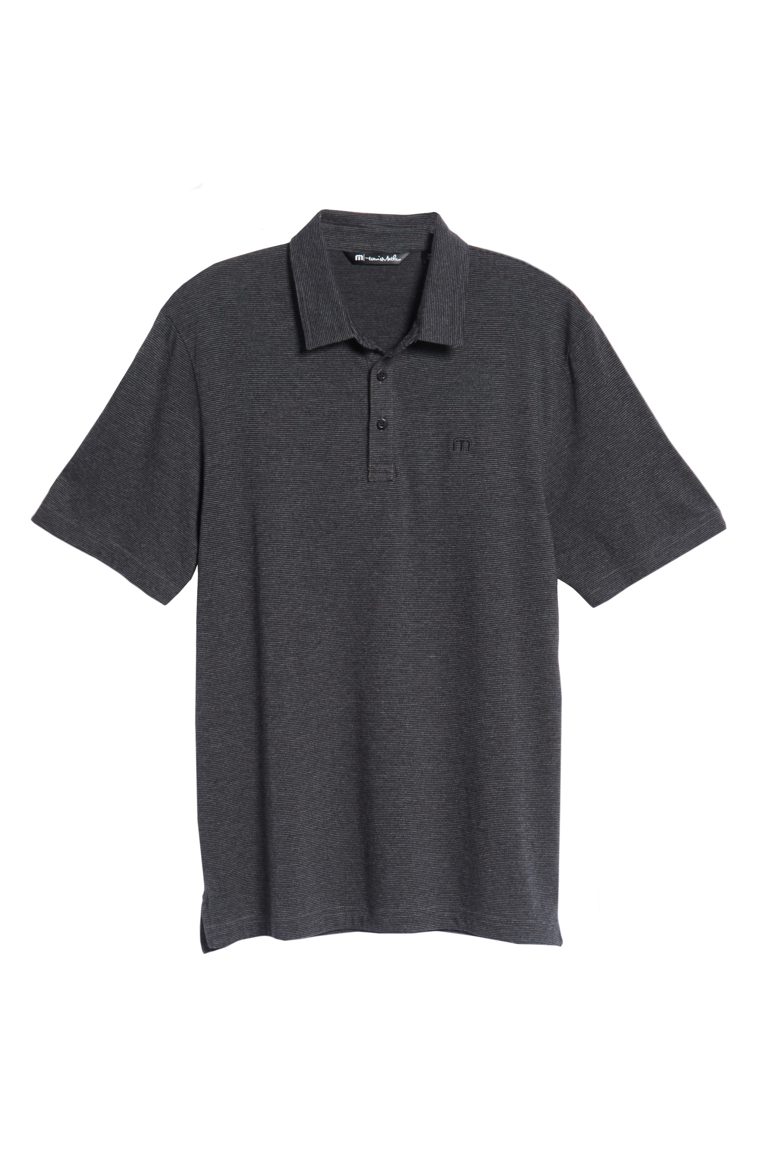 TRAVIS MATHEW,                             JQ Regular Fit Stripe Polo,                             Alternate thumbnail 6, color,                             020