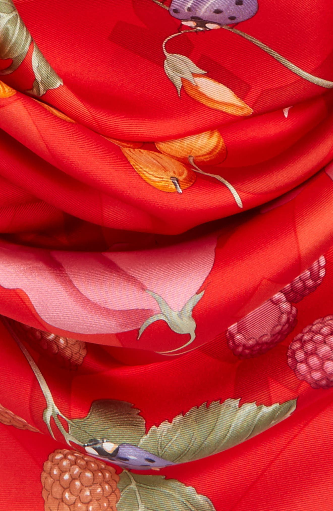 Silk Scarf,                             Alternate thumbnail 3, color,                             600