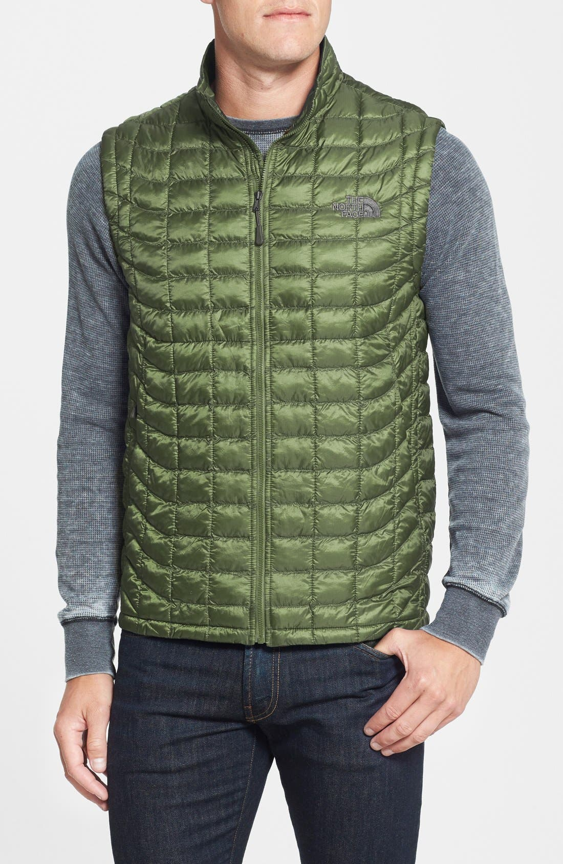 'ThermoBall<sup>™</sup>' Packable PrimaLoft<sup>®</sup> Vest,                             Main thumbnail 15, color,
