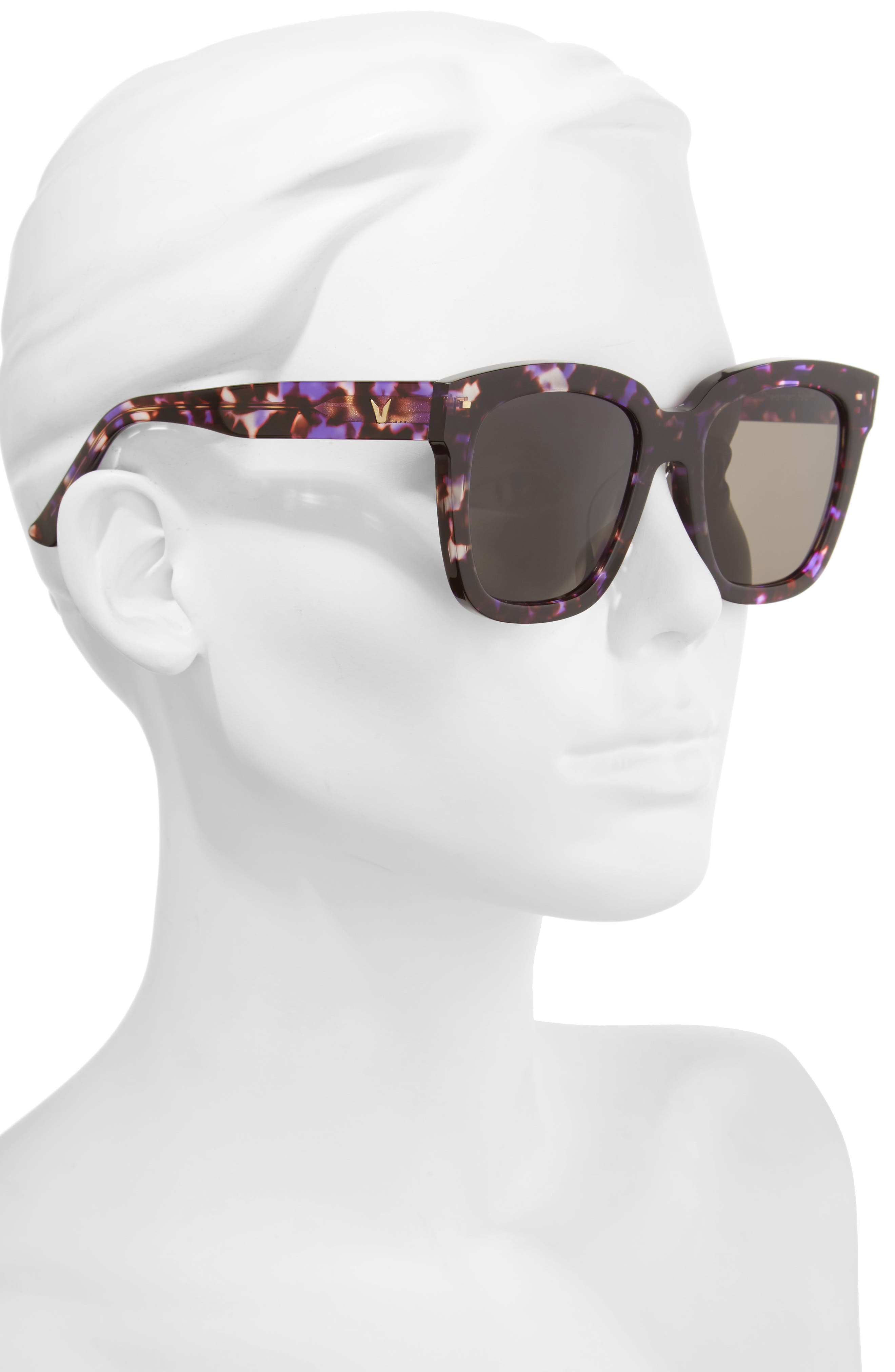 Dreamer Hoff 54mm Sunglasses,                             Alternate thumbnail 6, color,