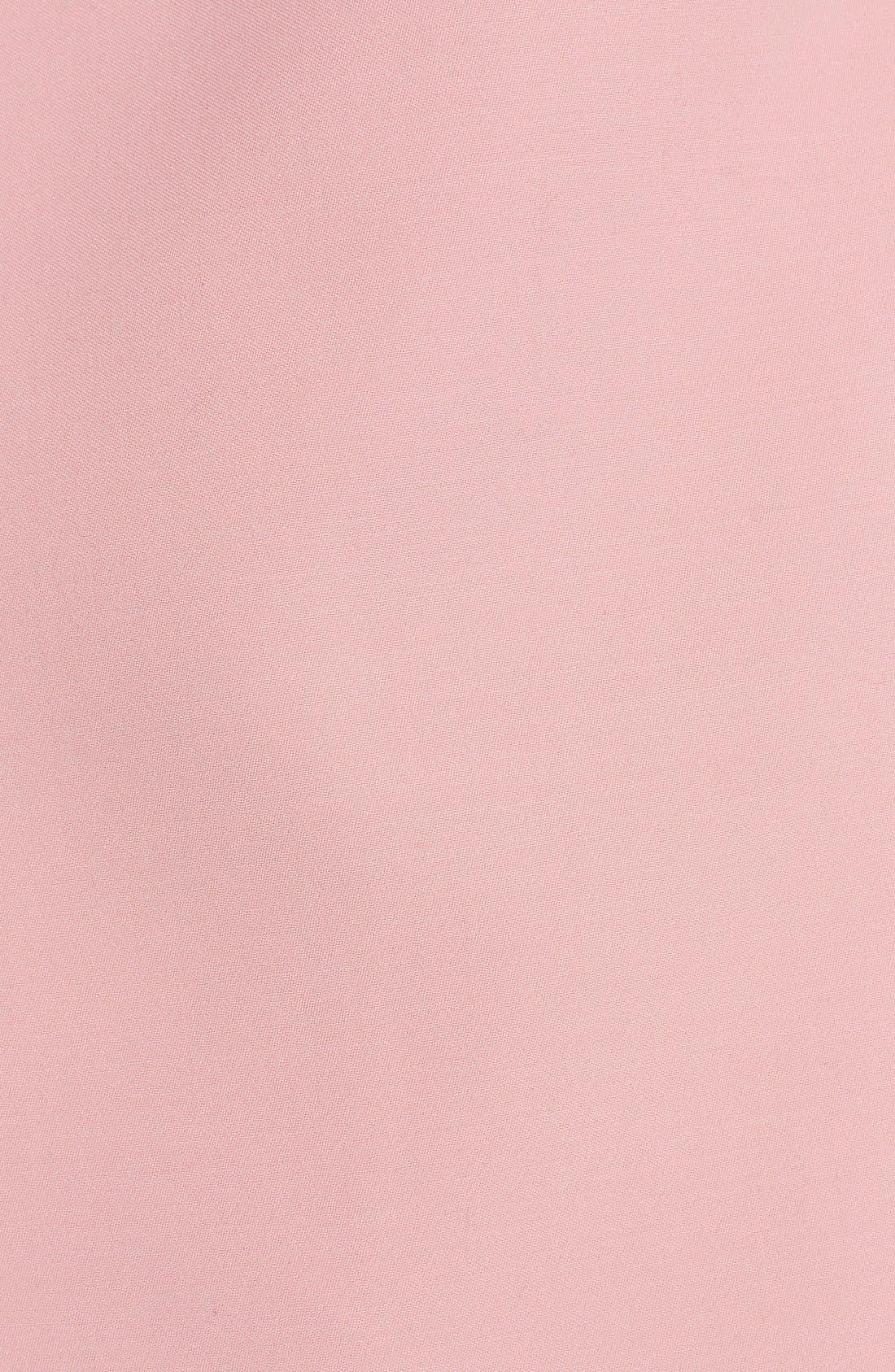 MARNI,                             Wide Lapel Wool Blend Coat,                             Alternate thumbnail 3, color,                             650