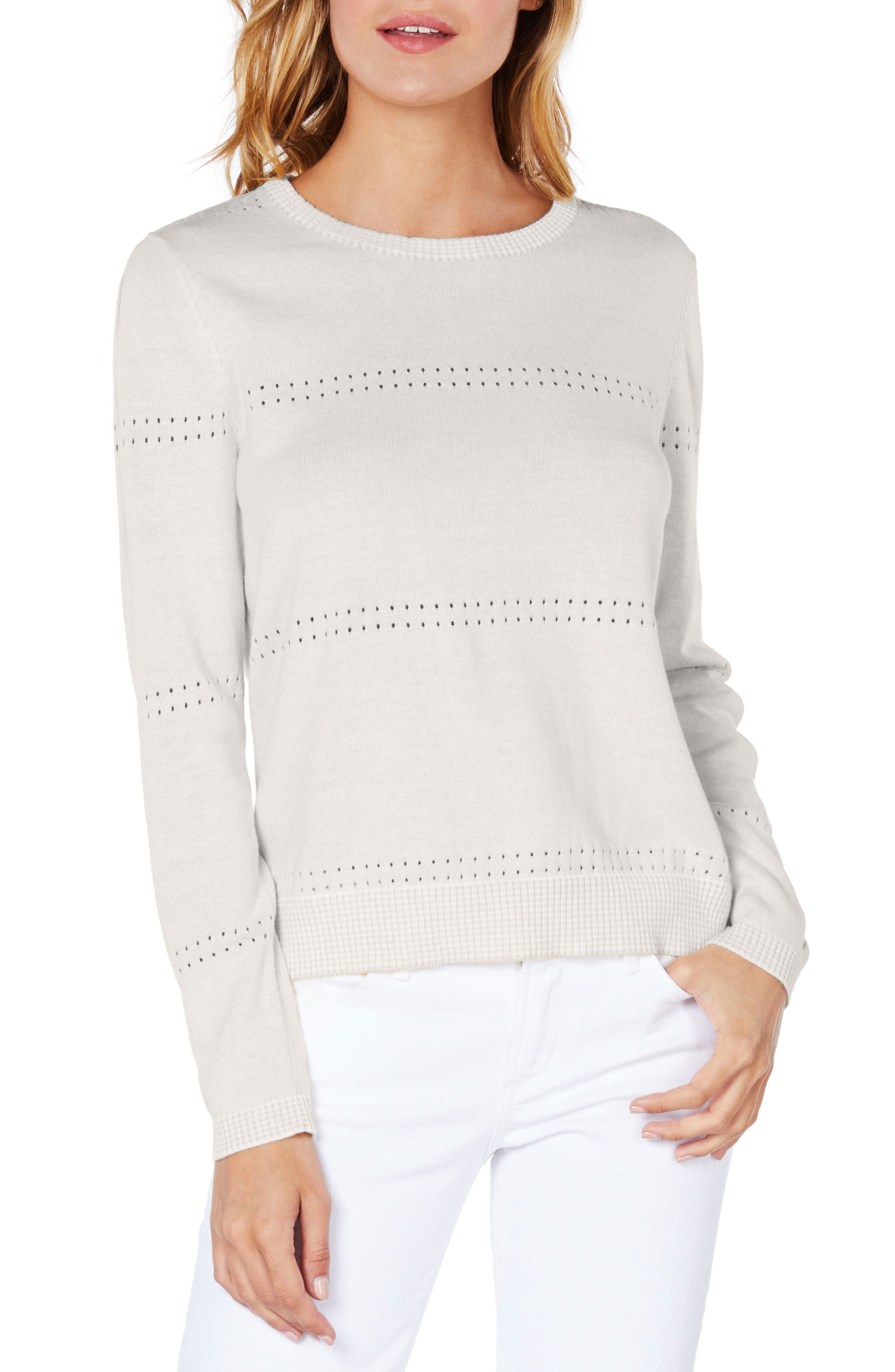 Slit Sleeve Reversible Sweater,                             Main thumbnail 2, color,