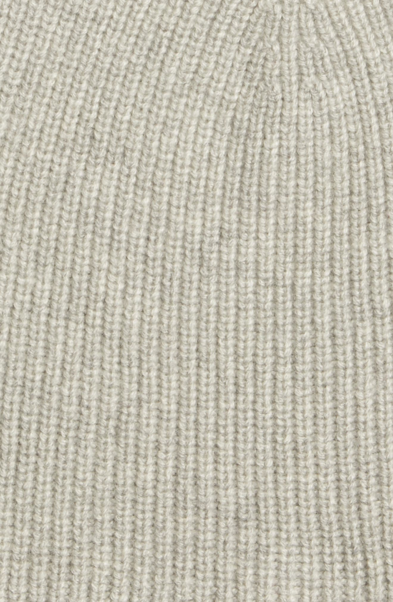 EILEEN FISHER,                             Cashmere Blend Beanie,                             Alternate thumbnail 2, color,                             020