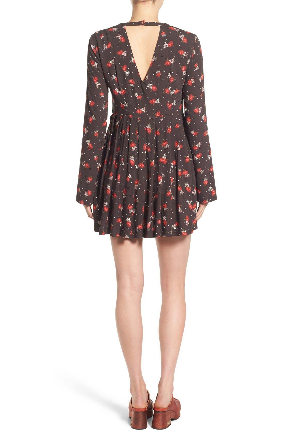 'Tegan' Minidress,                             Alternate thumbnail 3, color,                             019