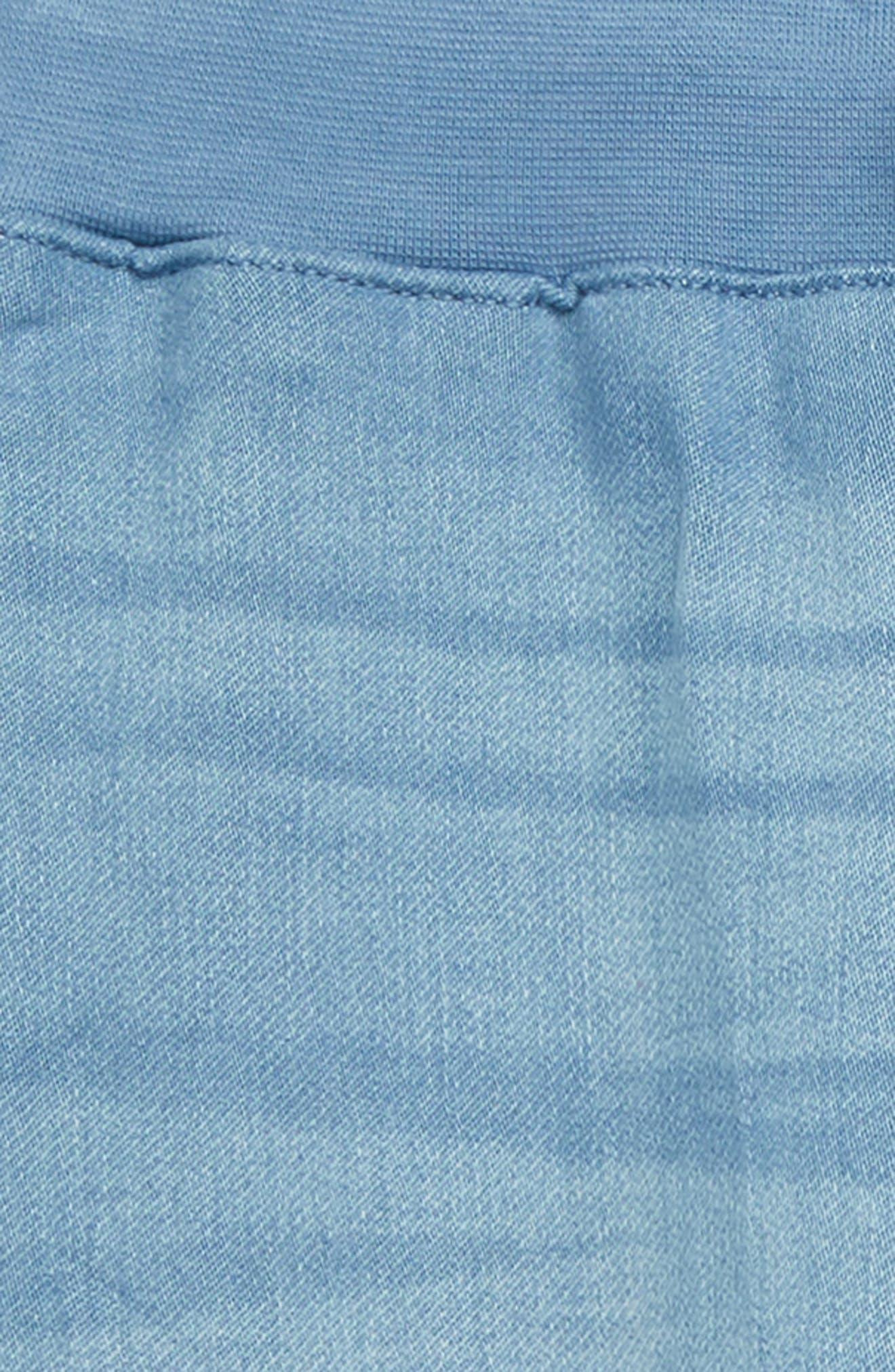 Dot Denim Jogger Pants,                             Alternate thumbnail 2, color,                             STEM LIGHT WASH