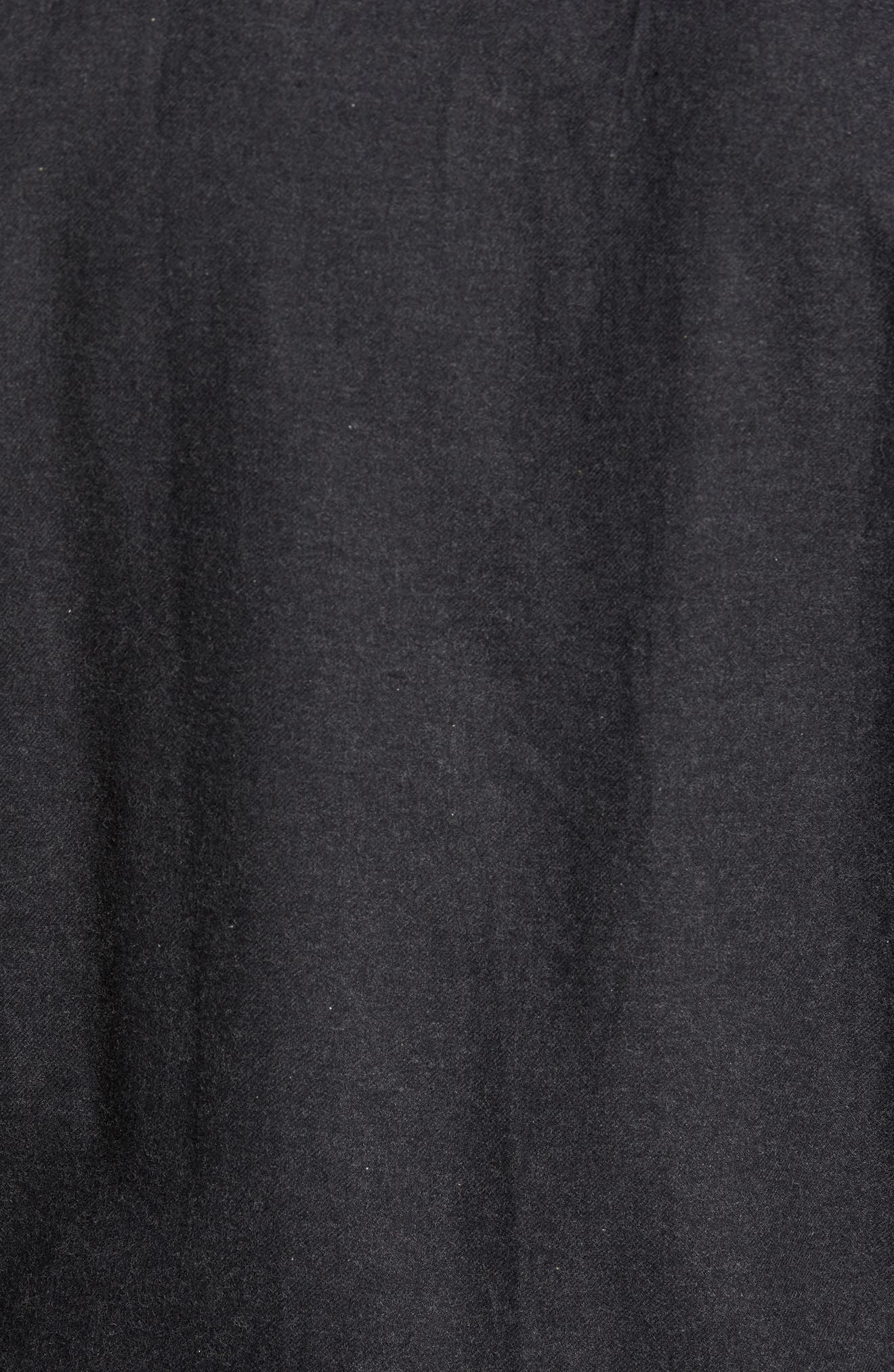 Heather Flannel Shirt,                             Alternate thumbnail 5, color,                             013