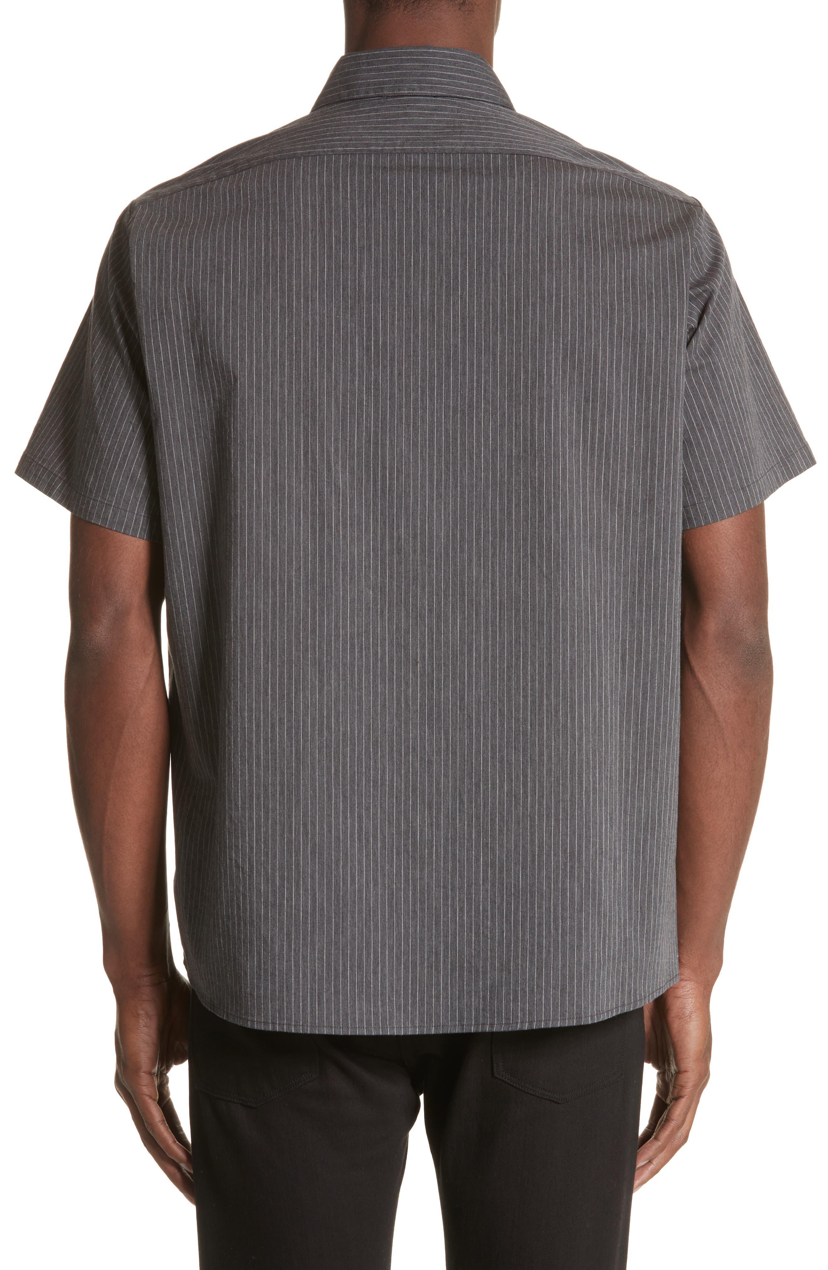 Mechanice Short Sleeve Woven Shirt,                             Alternate thumbnail 2, color,