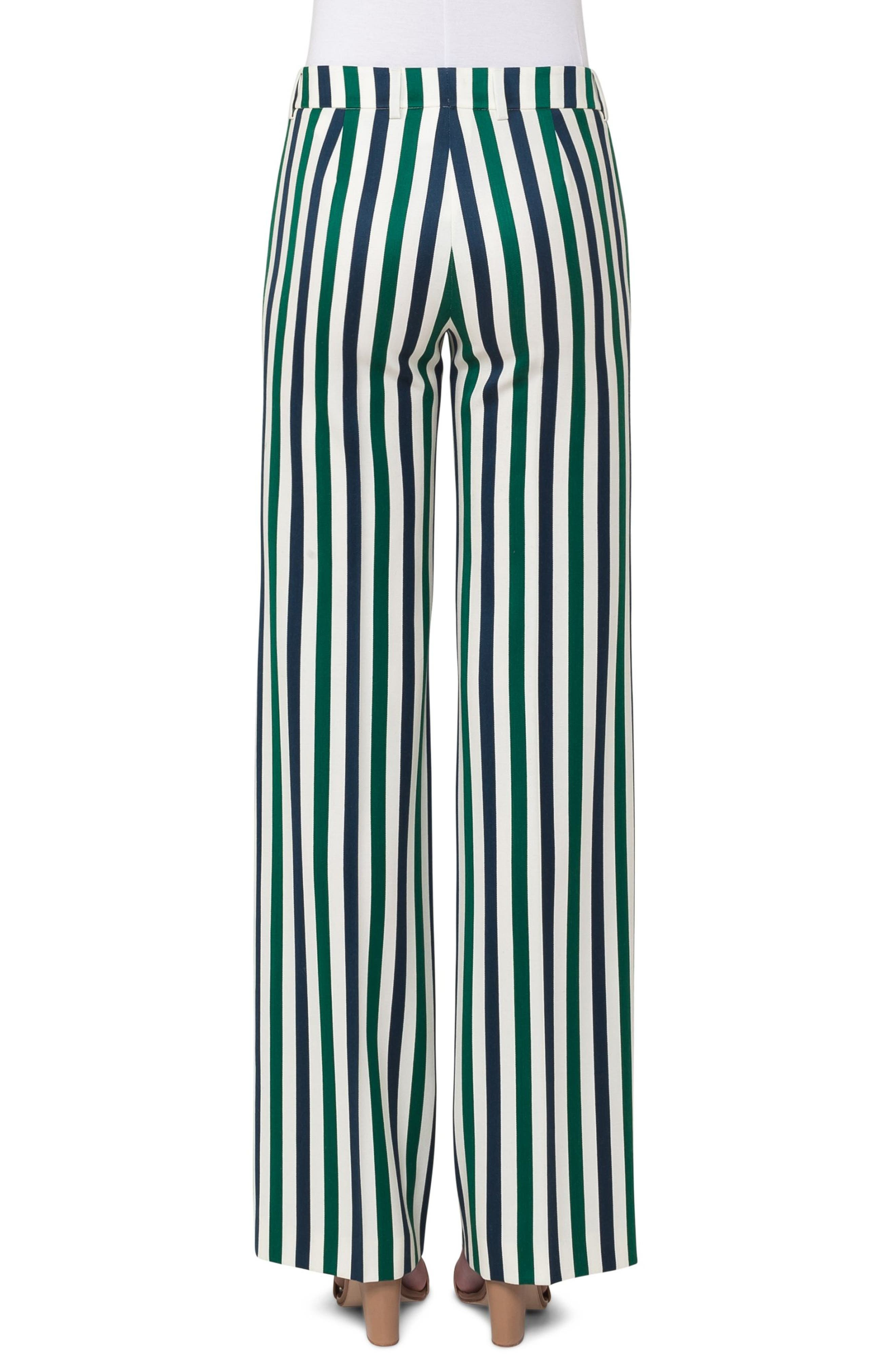 Mikka Stripe Pants,                             Alternate thumbnail 2, color,                             400