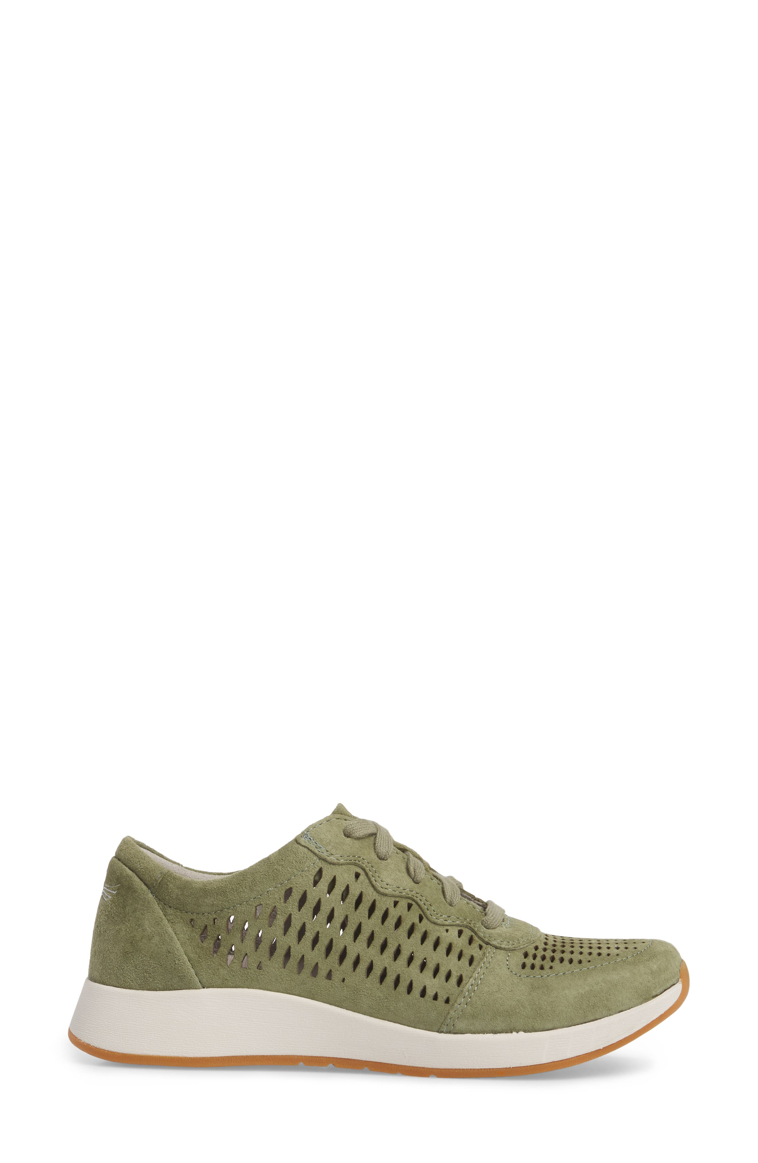 Charlie Perforated Sneaker,                             Alternate thumbnail 3, color,                             309