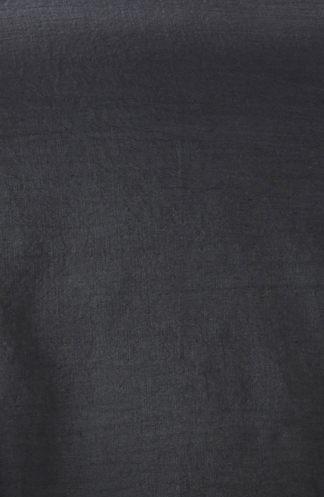Relaxed Cotton & Linen Duvet Cover,                             Alternate thumbnail 2, color,                             GREY ONYX