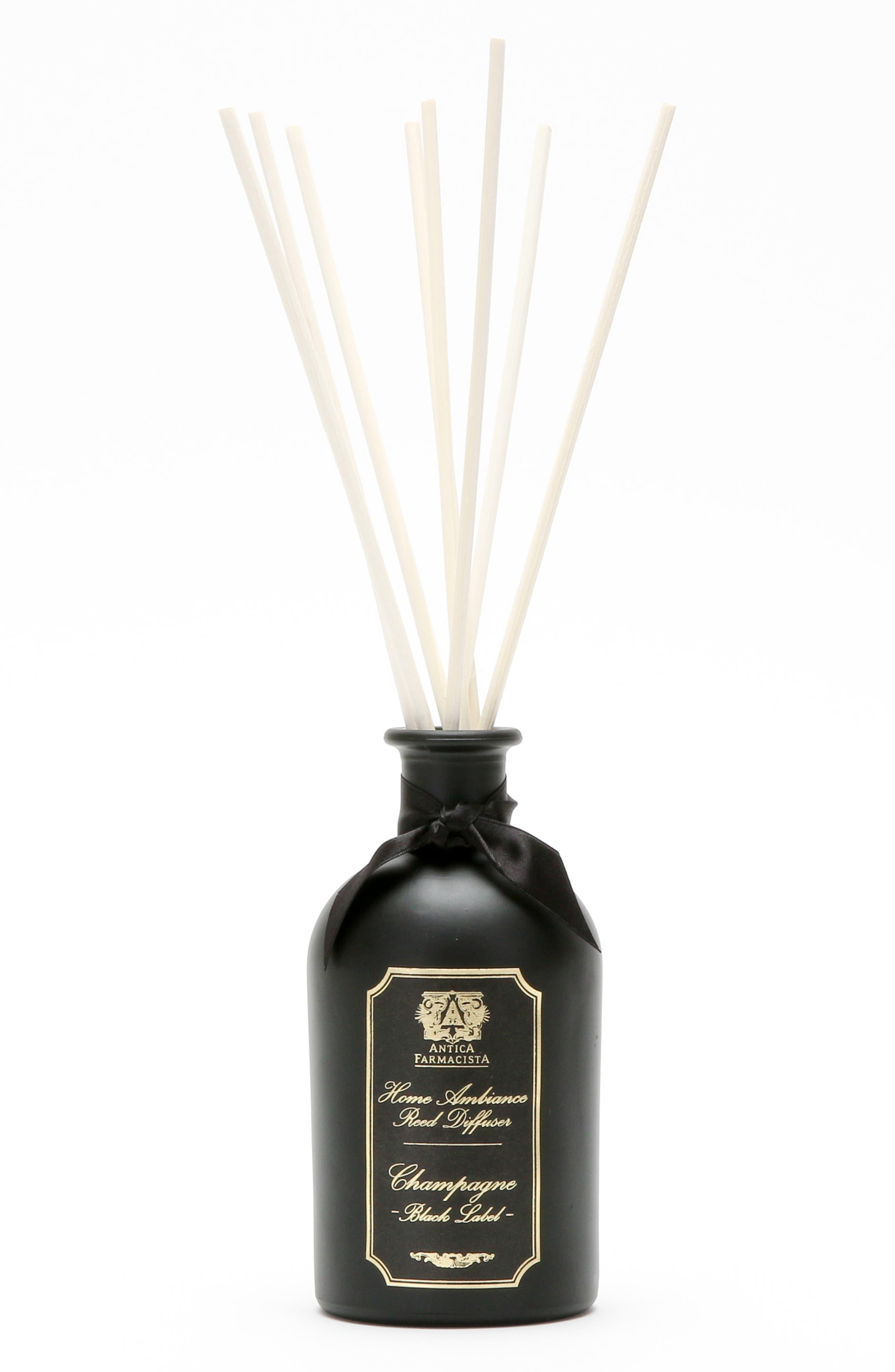 ANTICA FARMACISTA,                             Black Label - Champagne Home Ambiance Perfume,                             Main thumbnail 1, color,                             000