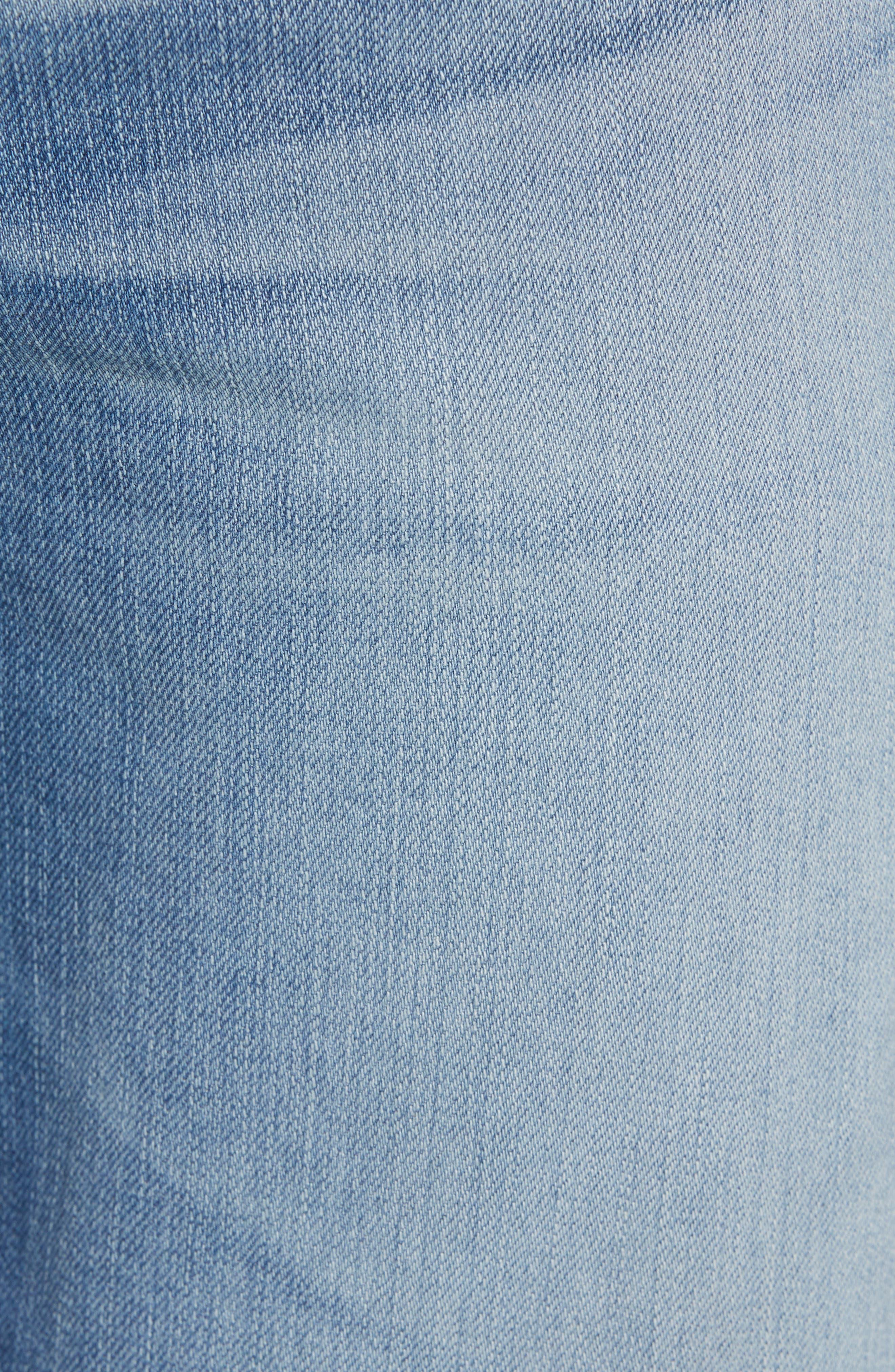 Everett Slim Straight Leg Jeans,                             Alternate thumbnail 5, color,                             487