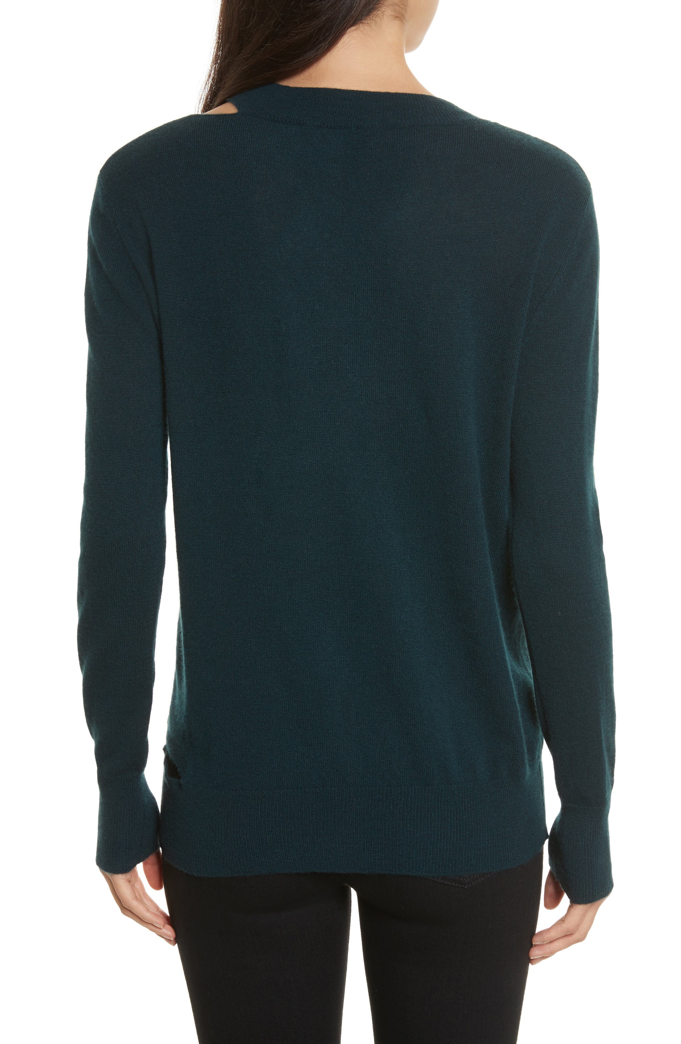 Cashmere Slash Boyfriend Sweater,                             Alternate thumbnail 2, color,                             232