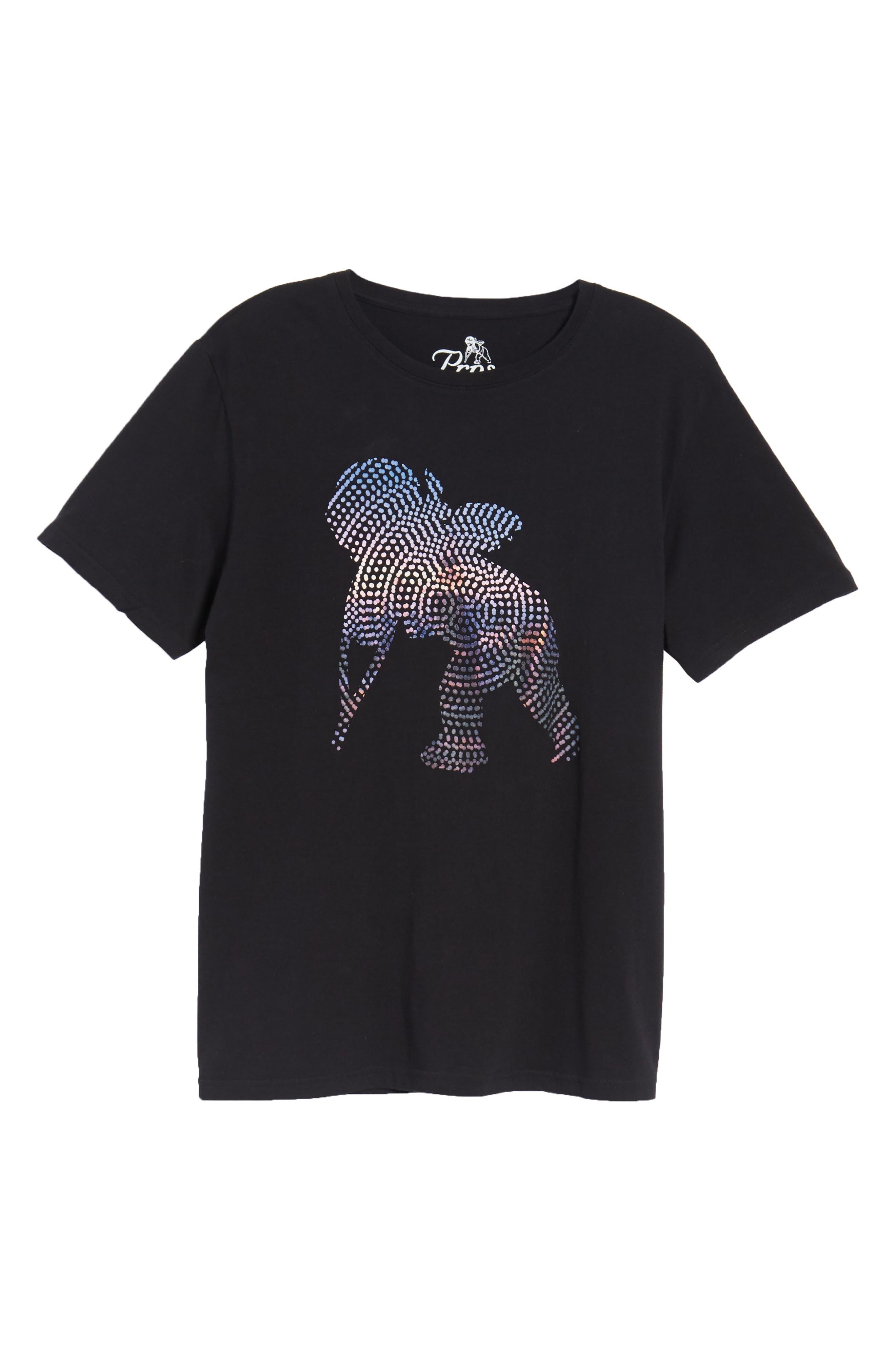 Cherub Graphic T-Shirt,                             Alternate thumbnail 6, color,                             001