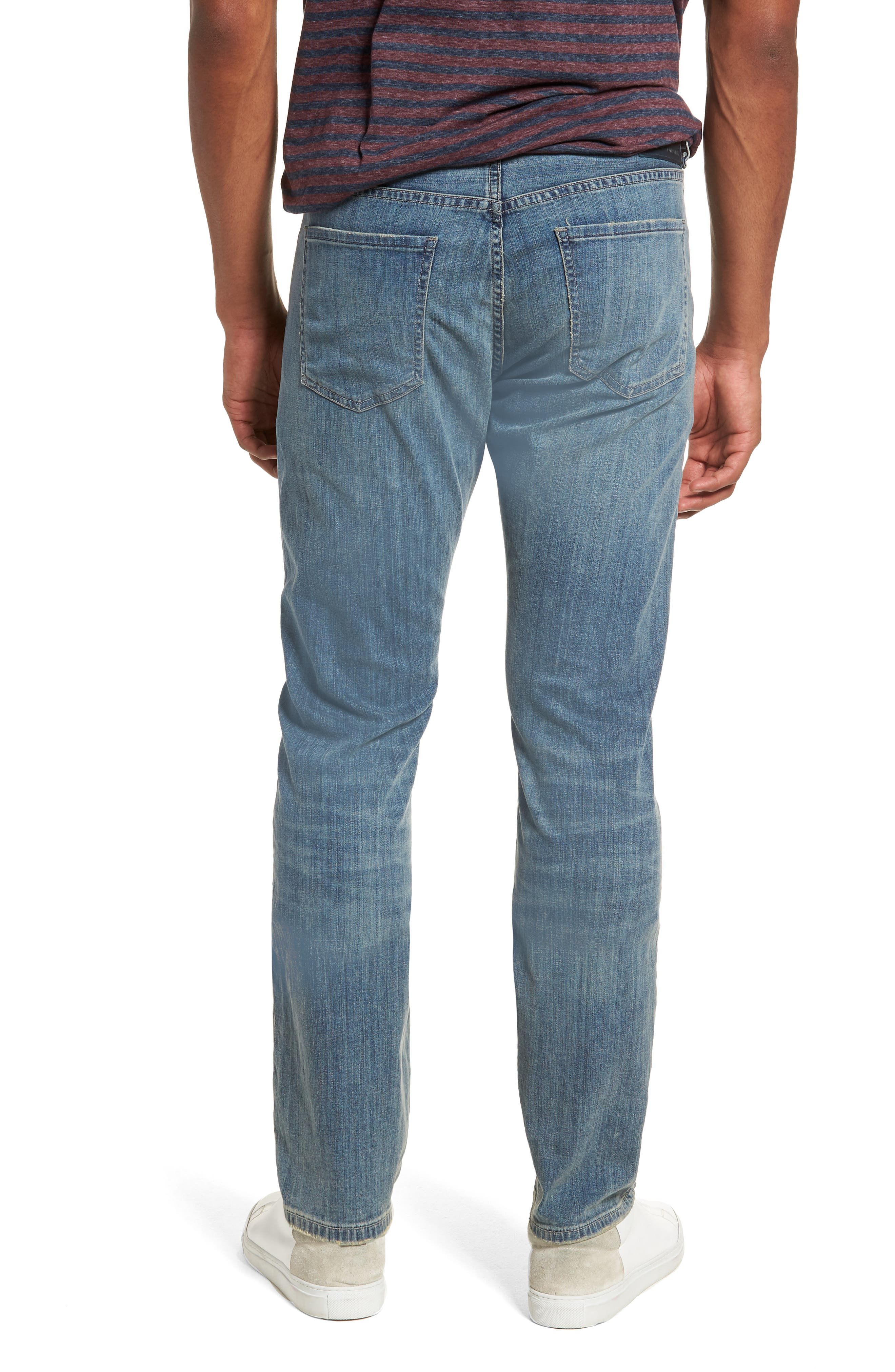 Gage Slim Straight Leg Jeans,                             Alternate thumbnail 2, color,                             COSTA