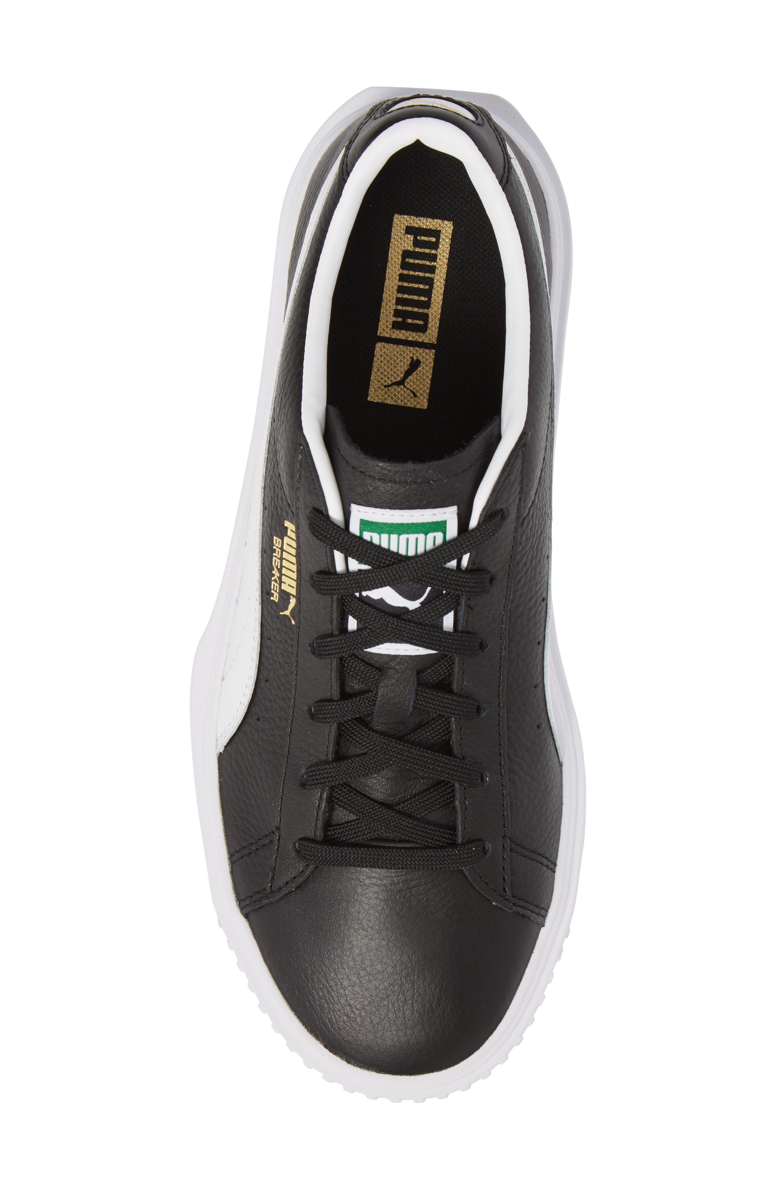 Breaker Low Top Sneaker,                             Alternate thumbnail 5, color,                             001