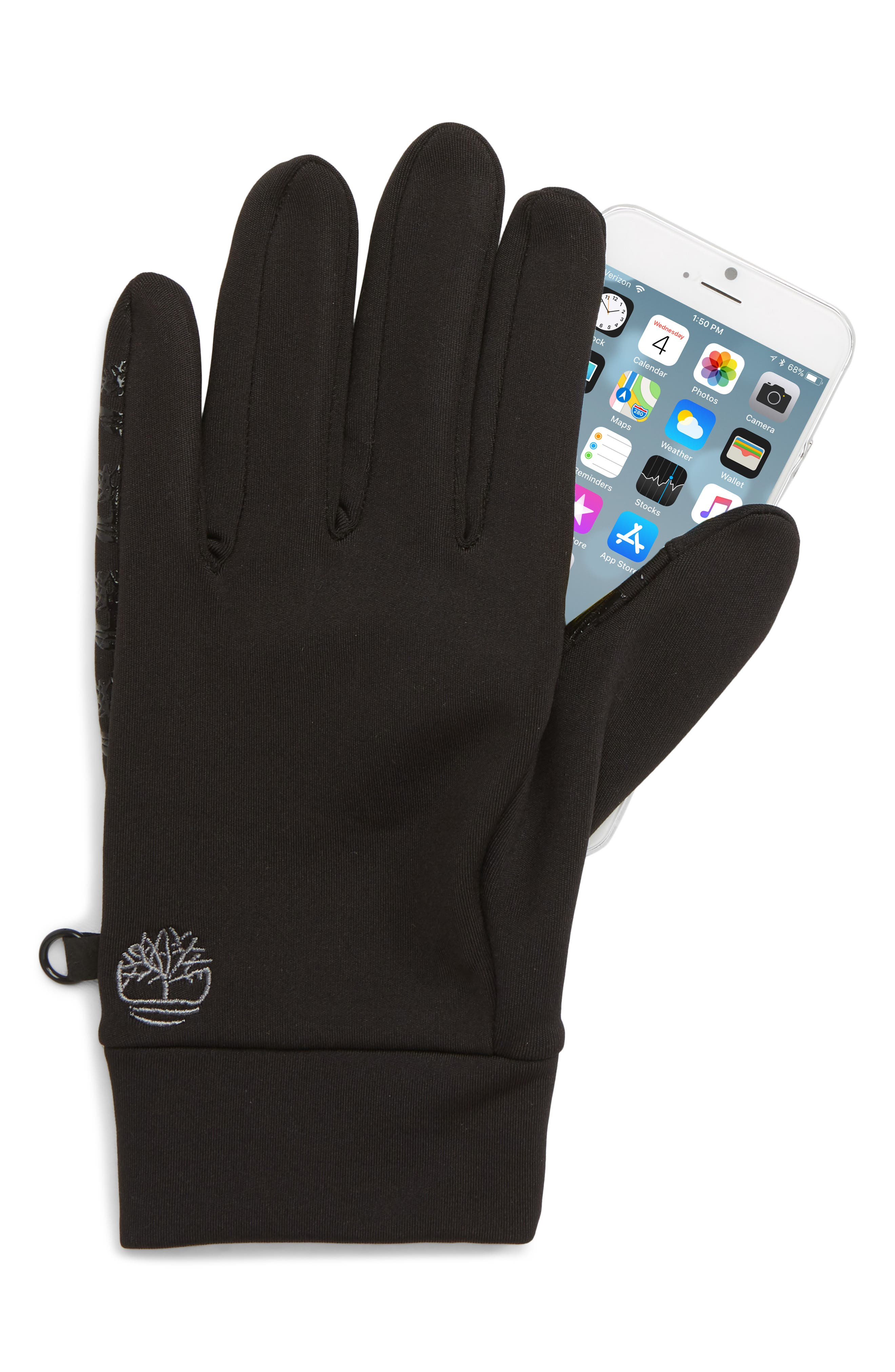 Soft Shell Gloves,                             Alternate thumbnail 2, color,                             BLACK
