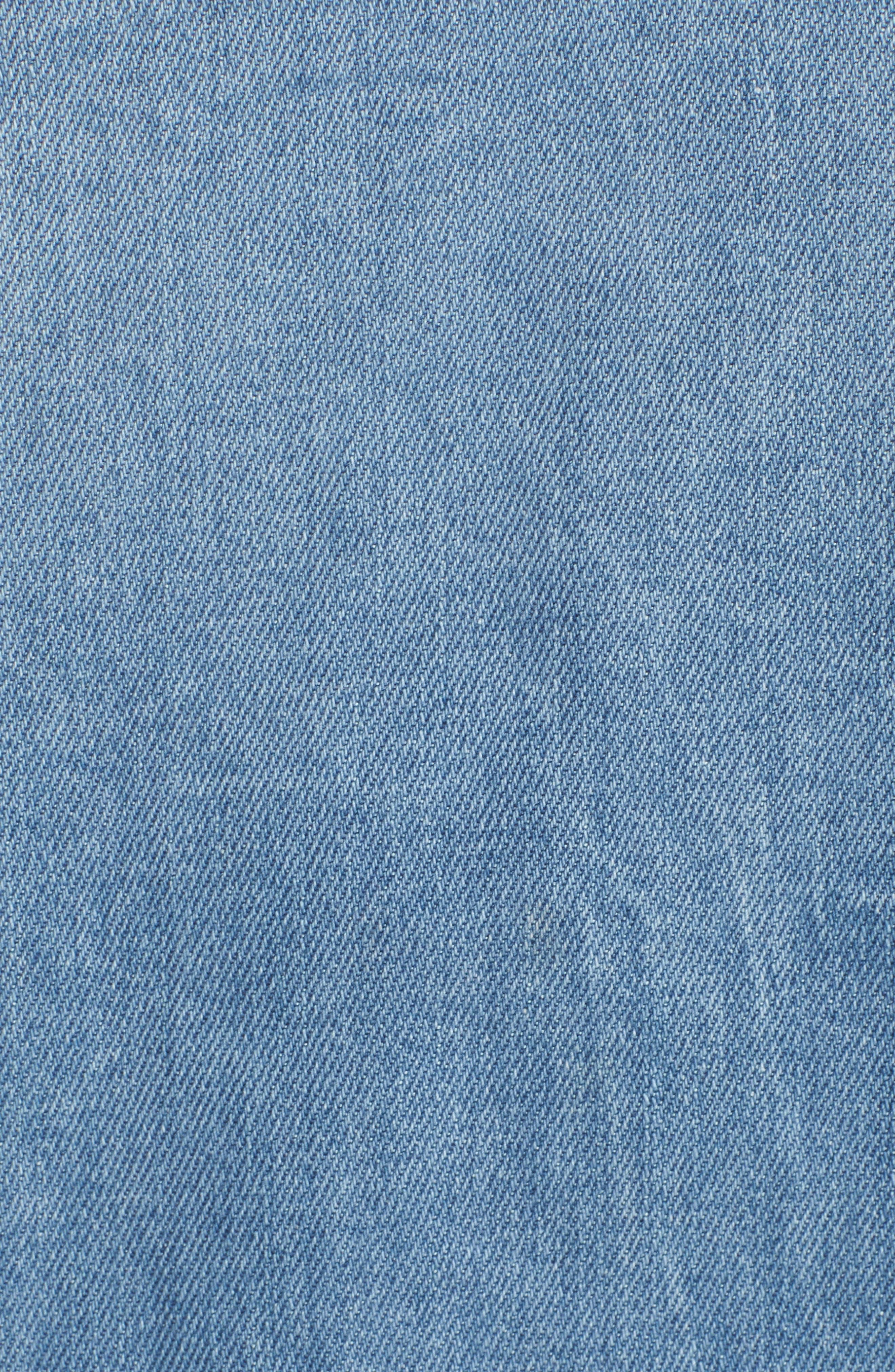Kick Destroy Deconstructed Denim Jacket,                             Alternate thumbnail 7, color,                             465