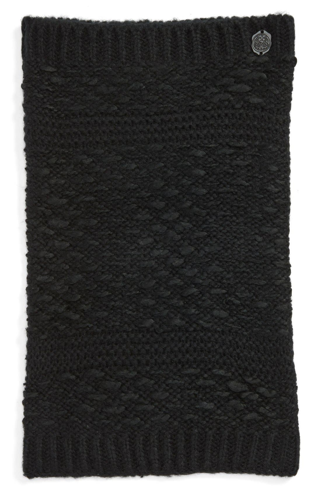 'Thick Thin' Knit Infinity Scarf,                             Alternate thumbnail 2, color,                             001