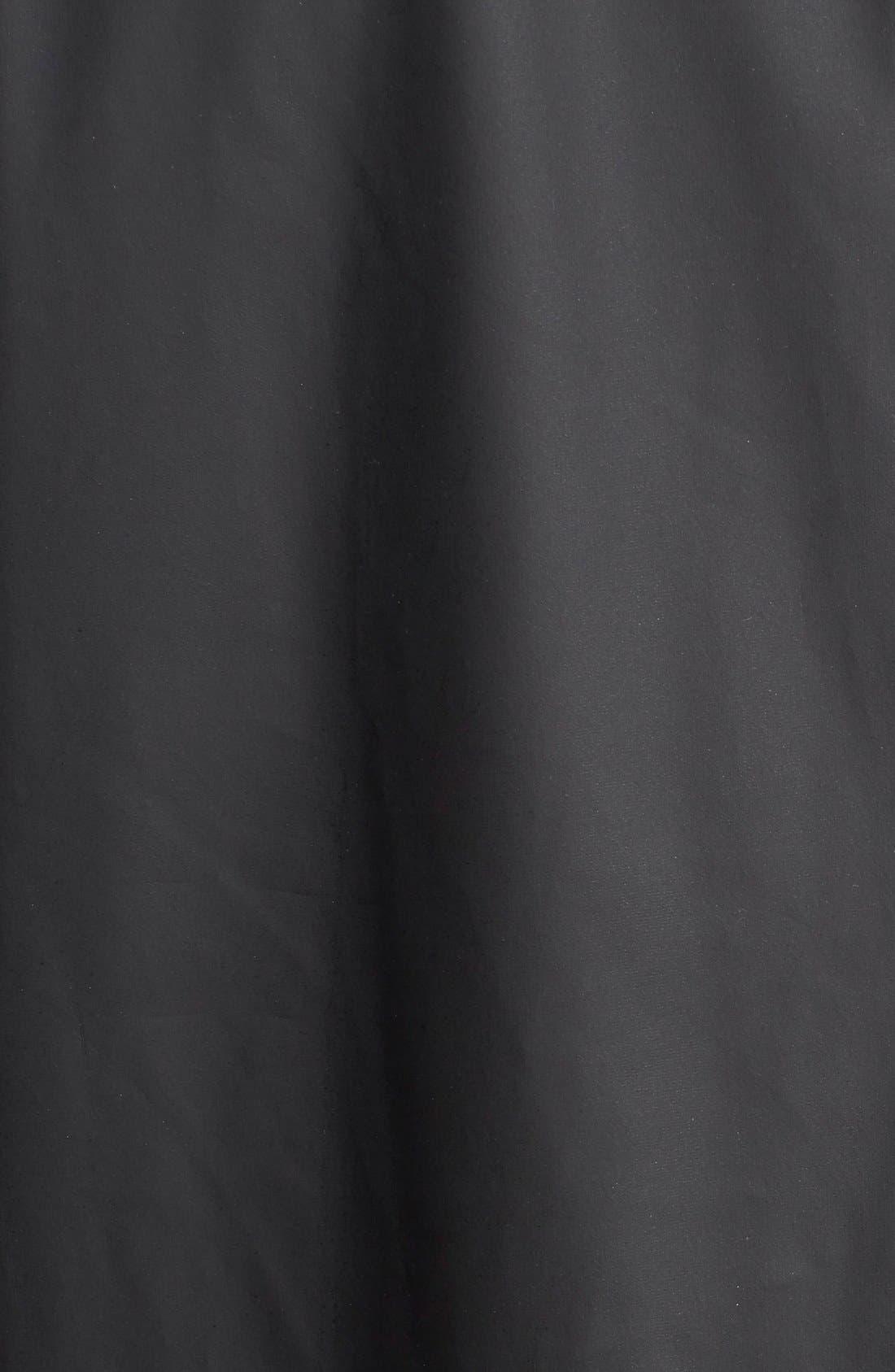 Lightweight Hooded Rain Jacket,                             Alternate thumbnail 9, color,                             BLACK
