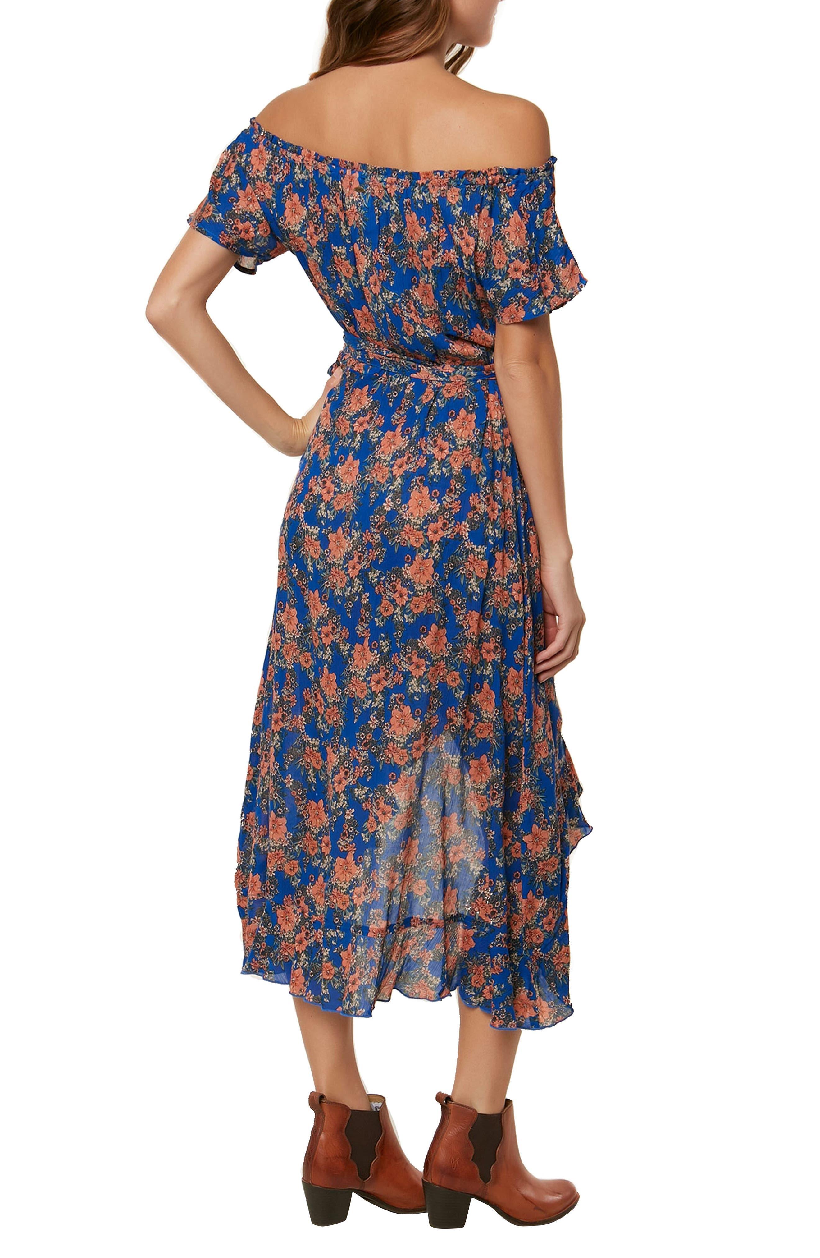Constance Woven Wrap Maxi Dress,                             Alternate thumbnail 2, color,                             400