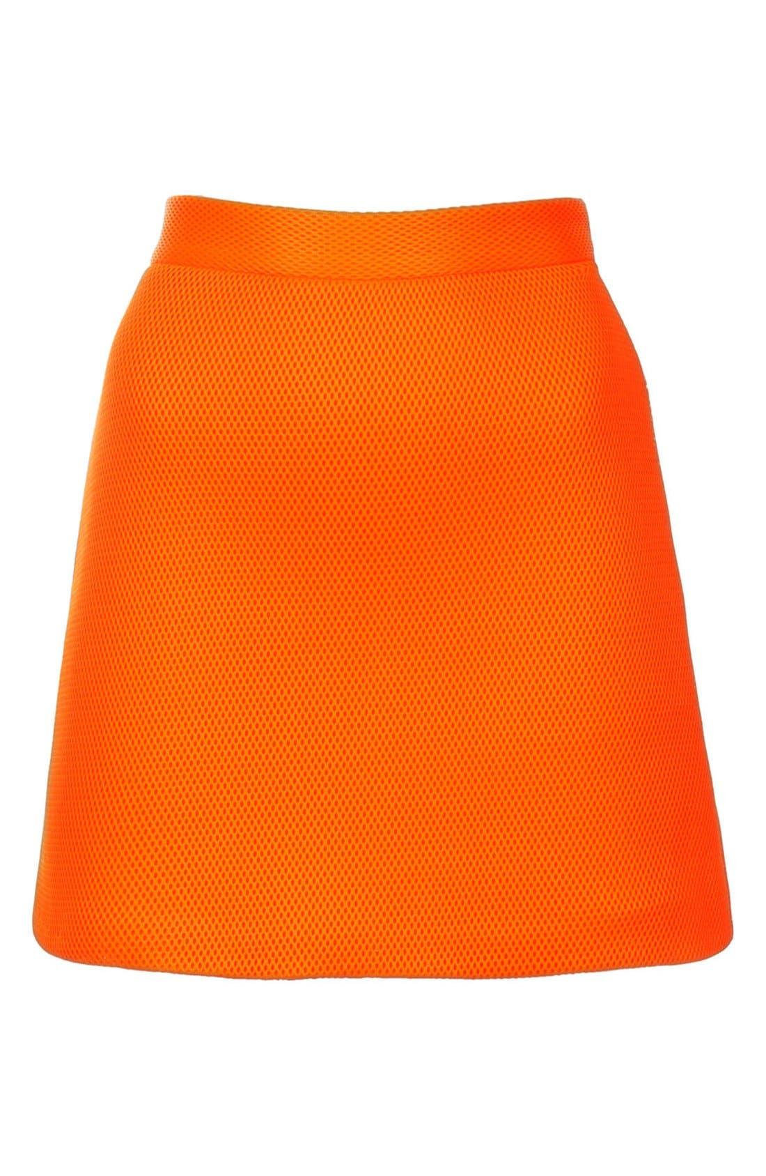 Airtex Miniskirt,                             Alternate thumbnail 8, color,