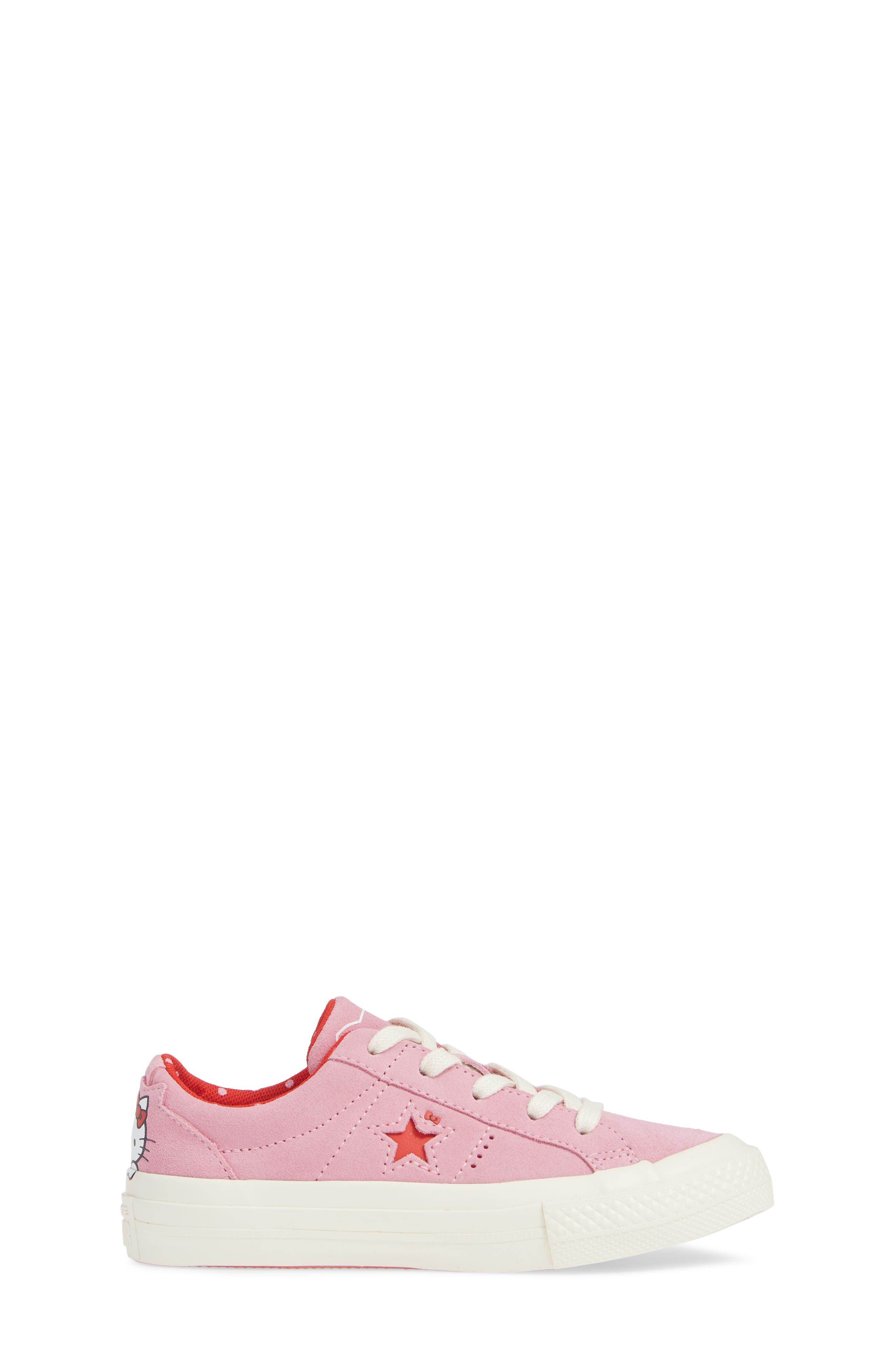 CONVERSE One Star Hello Kitty® Sneaker.  3-M