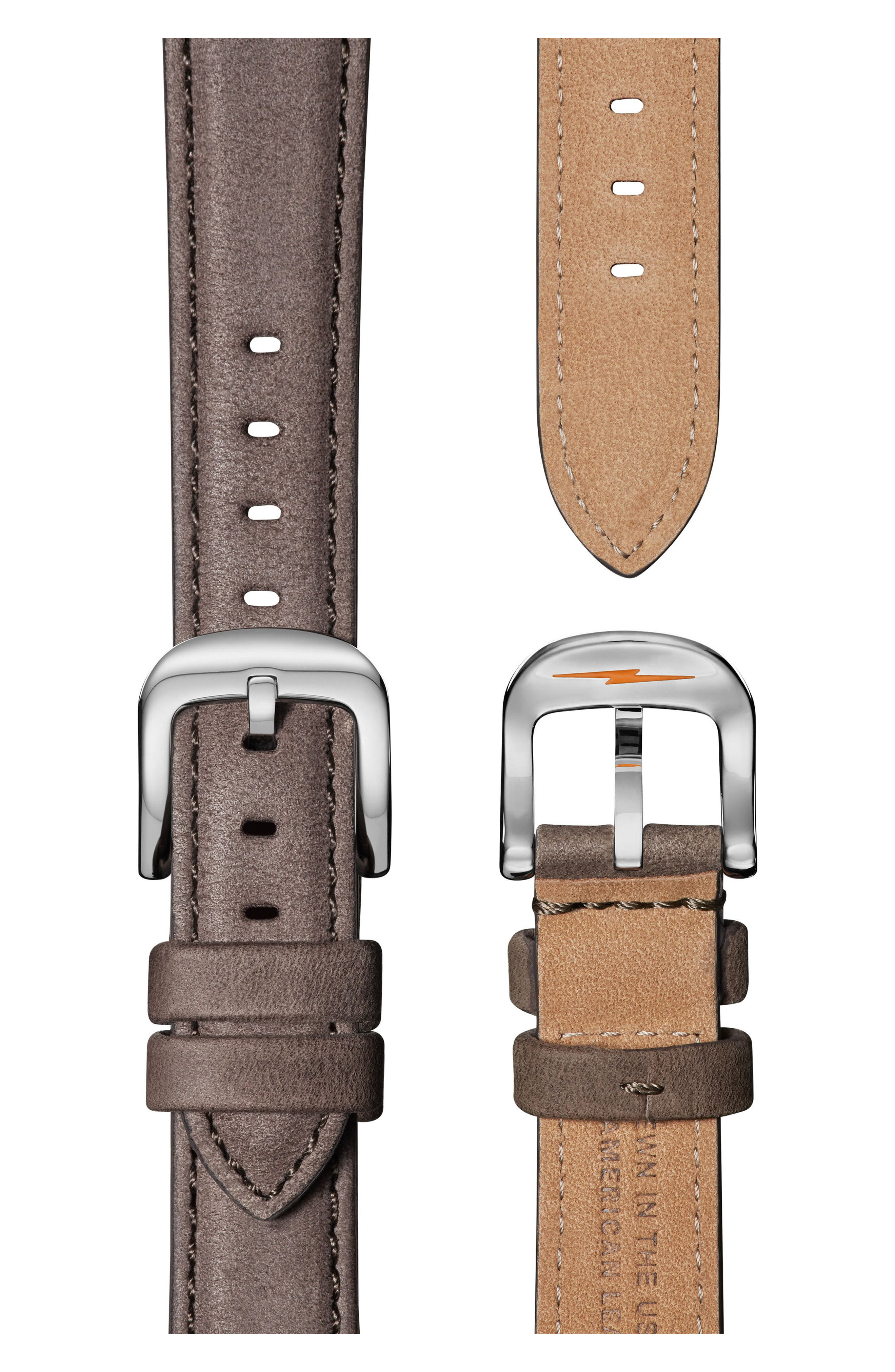 The Runwell Leather Strap Watch, 36mm,                             Alternate thumbnail 3, color,                             020