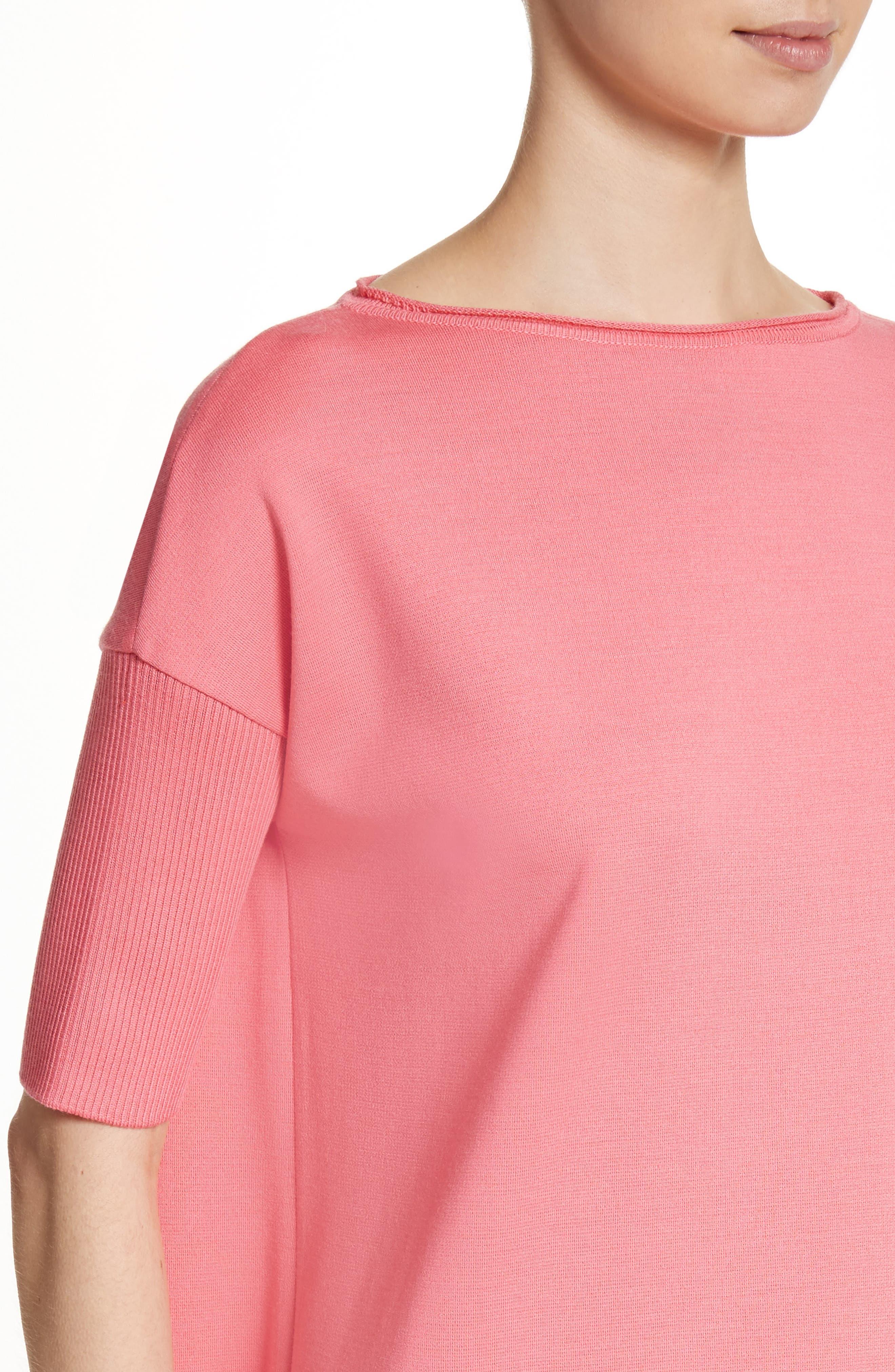 Milano Knit Tunic,                             Alternate thumbnail 4, color,